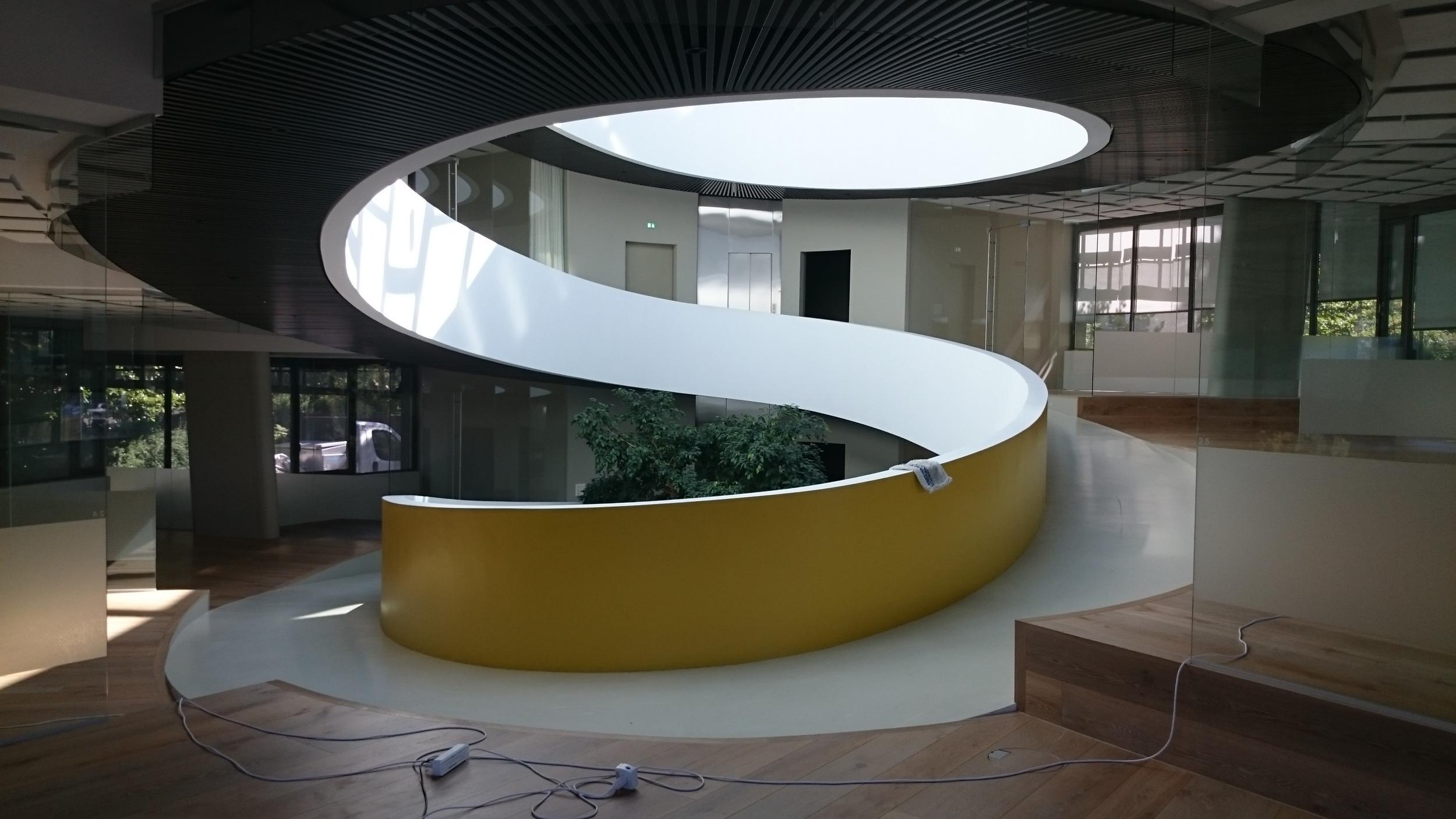 Inside the cocoon shown earlier