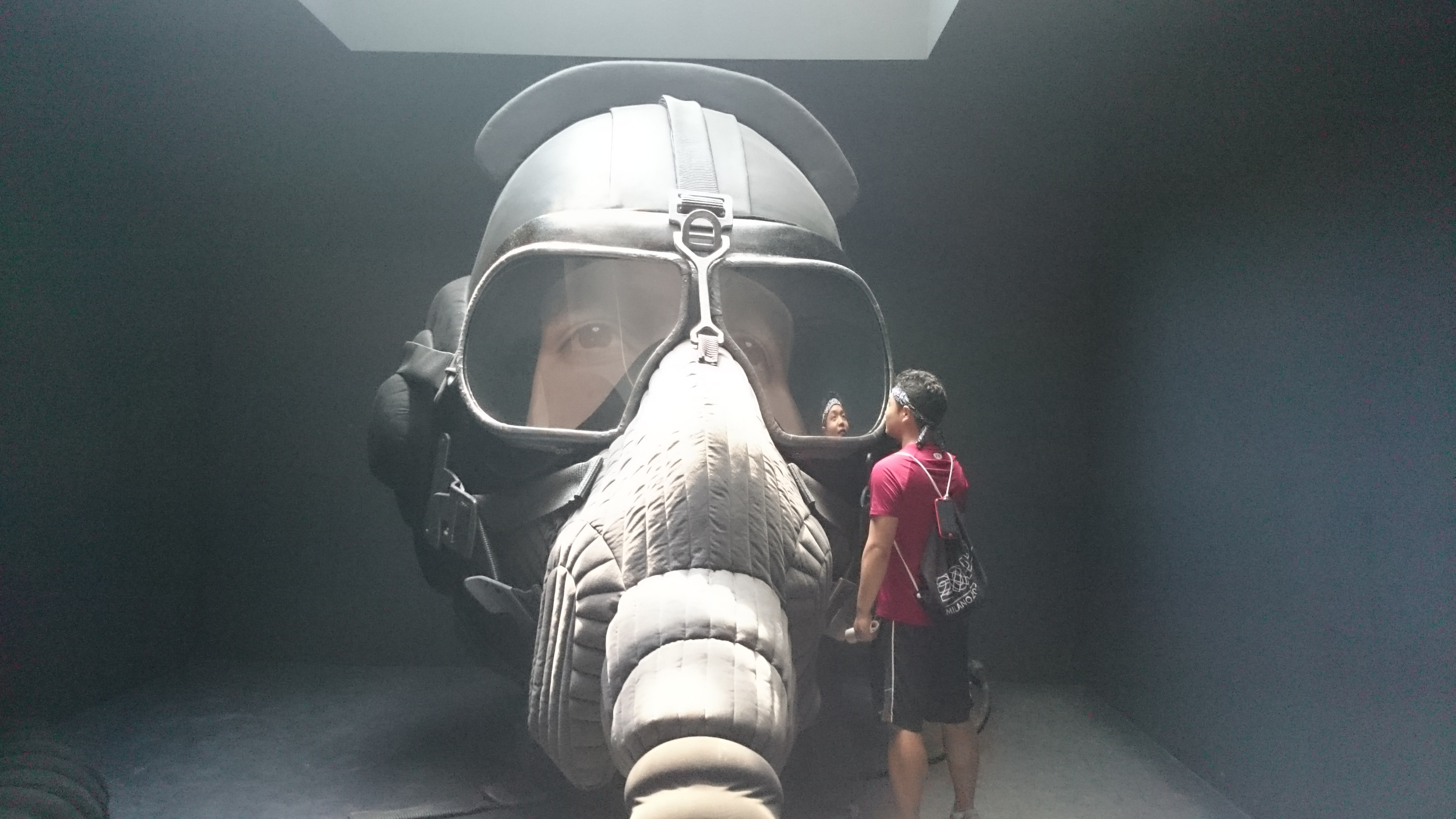 Congee and a huge head