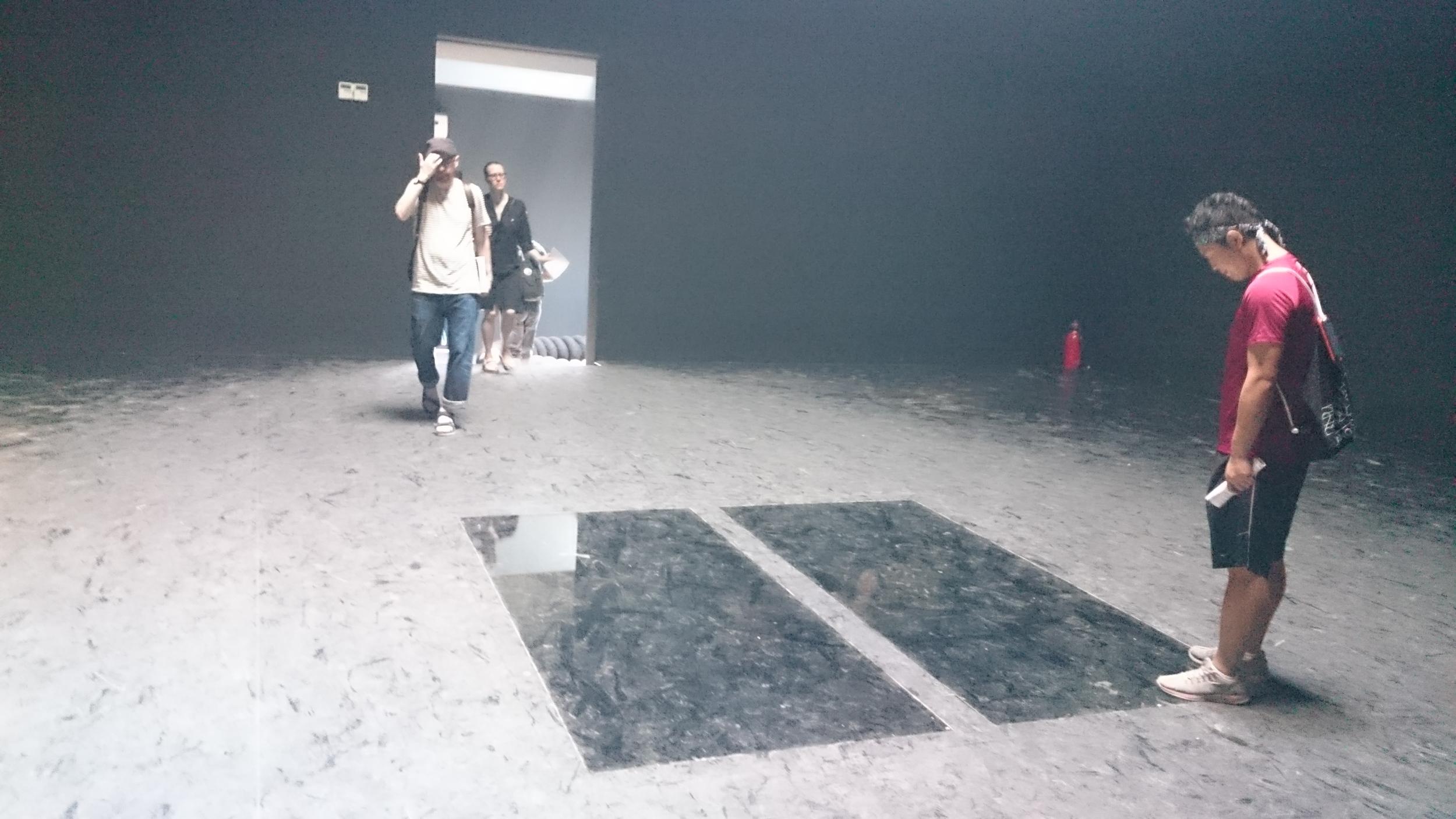 Dark and light room