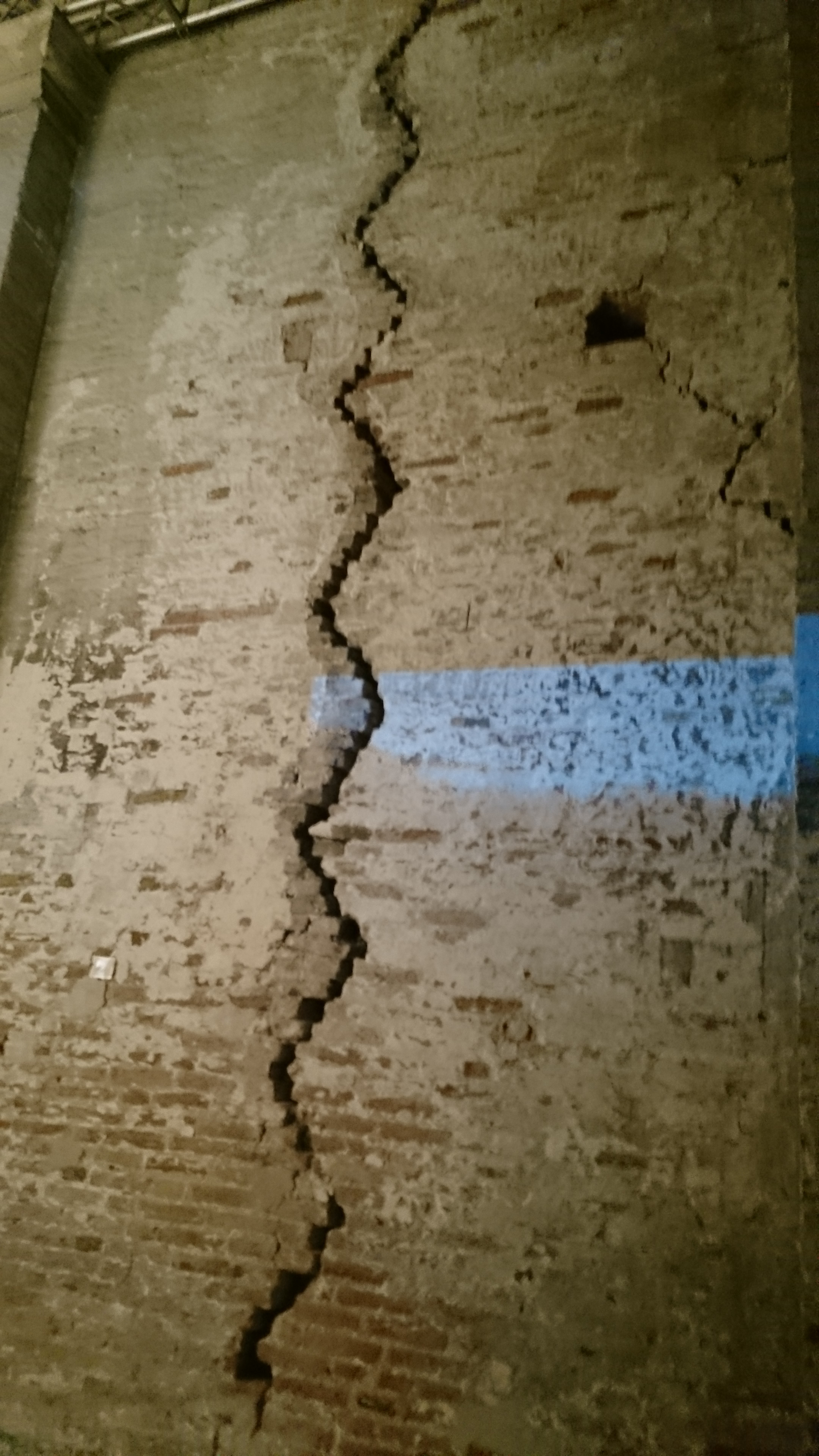 Crack in the walls