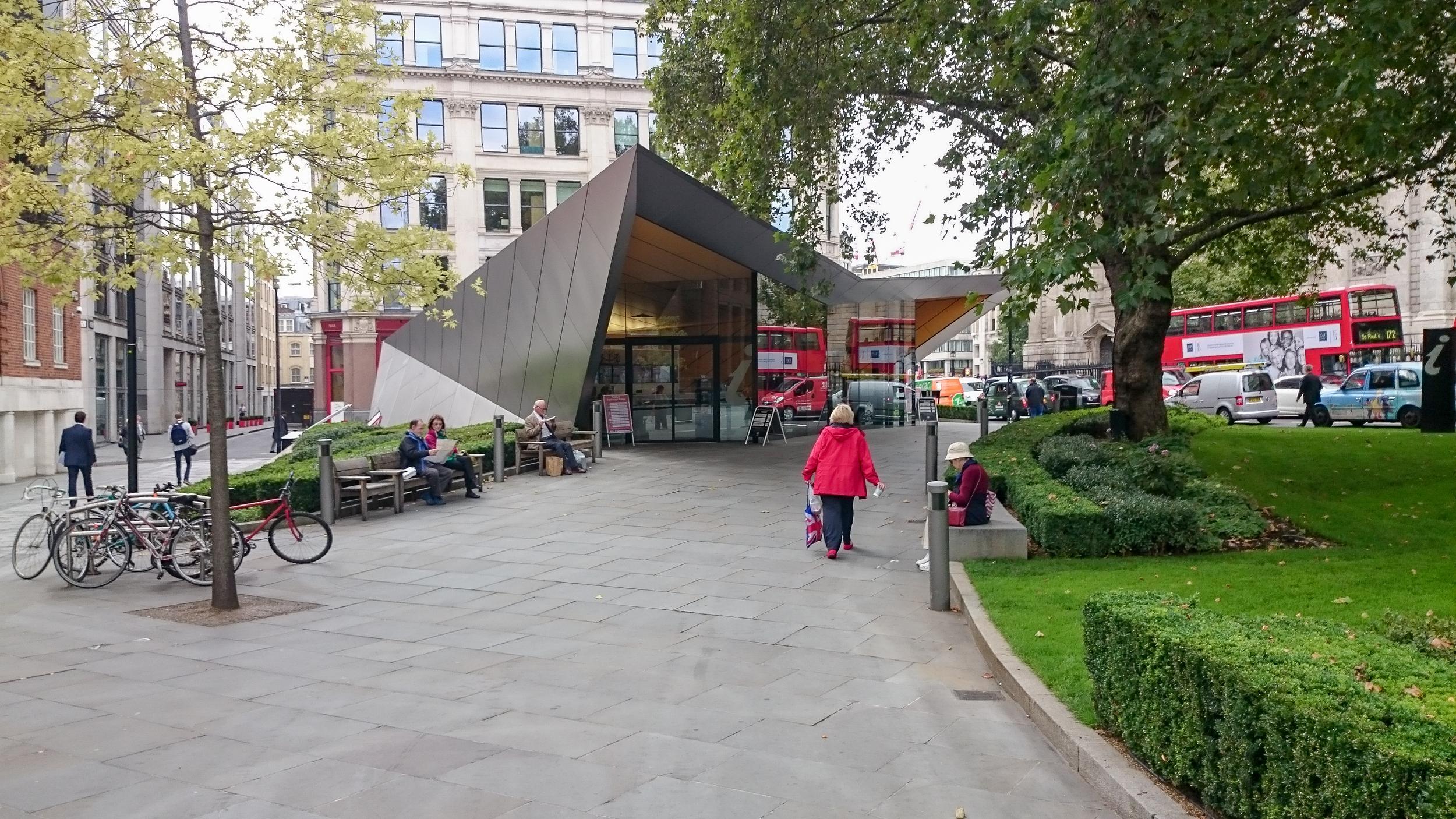 St Pauls information Kiosk - Make Architects