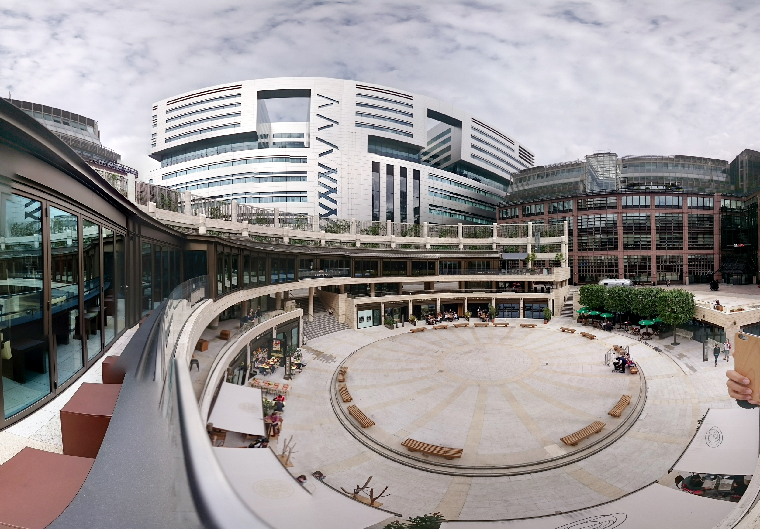 Broadgate Circle and nearby development- SOM + ARUP