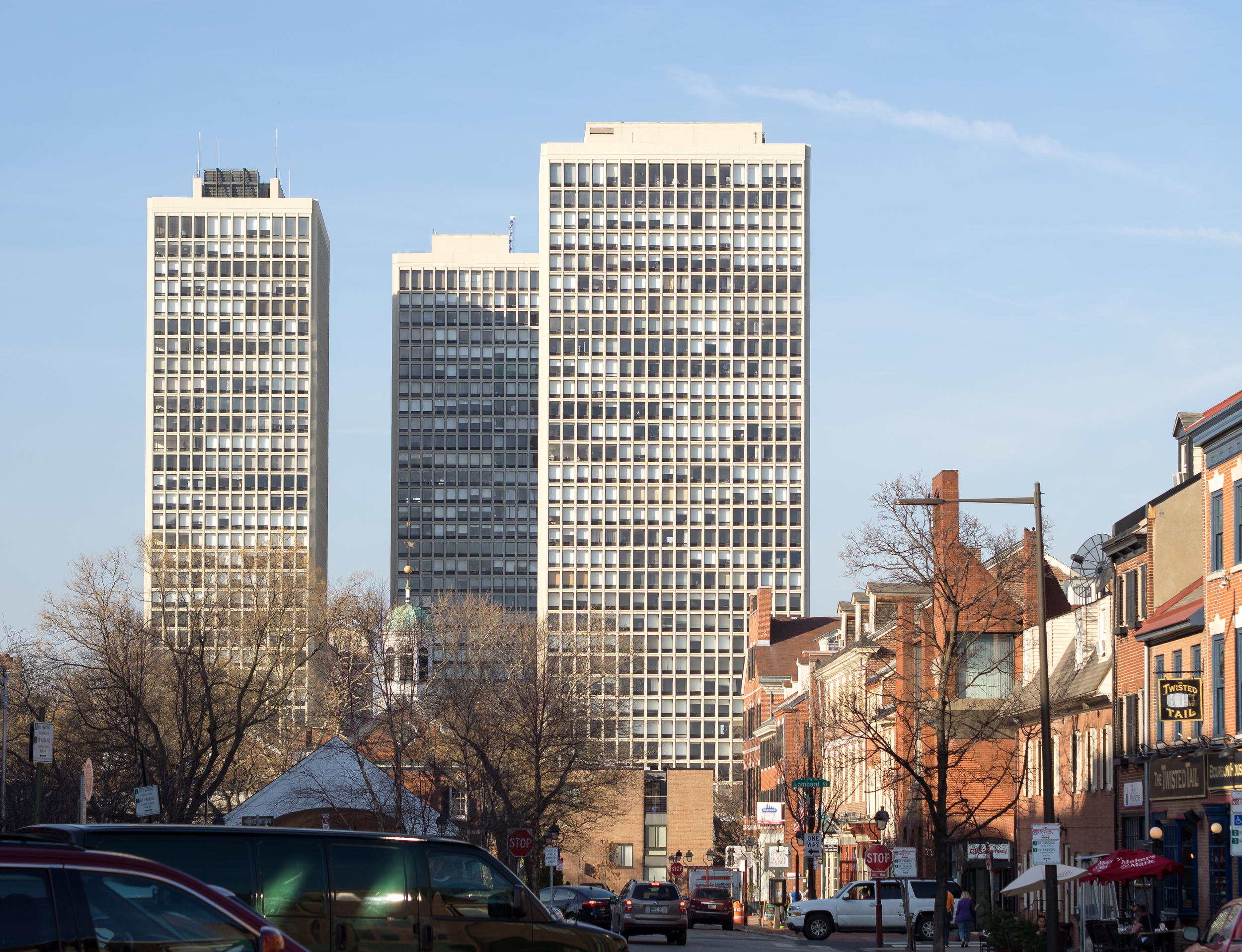 I.M Pei's philly apartments