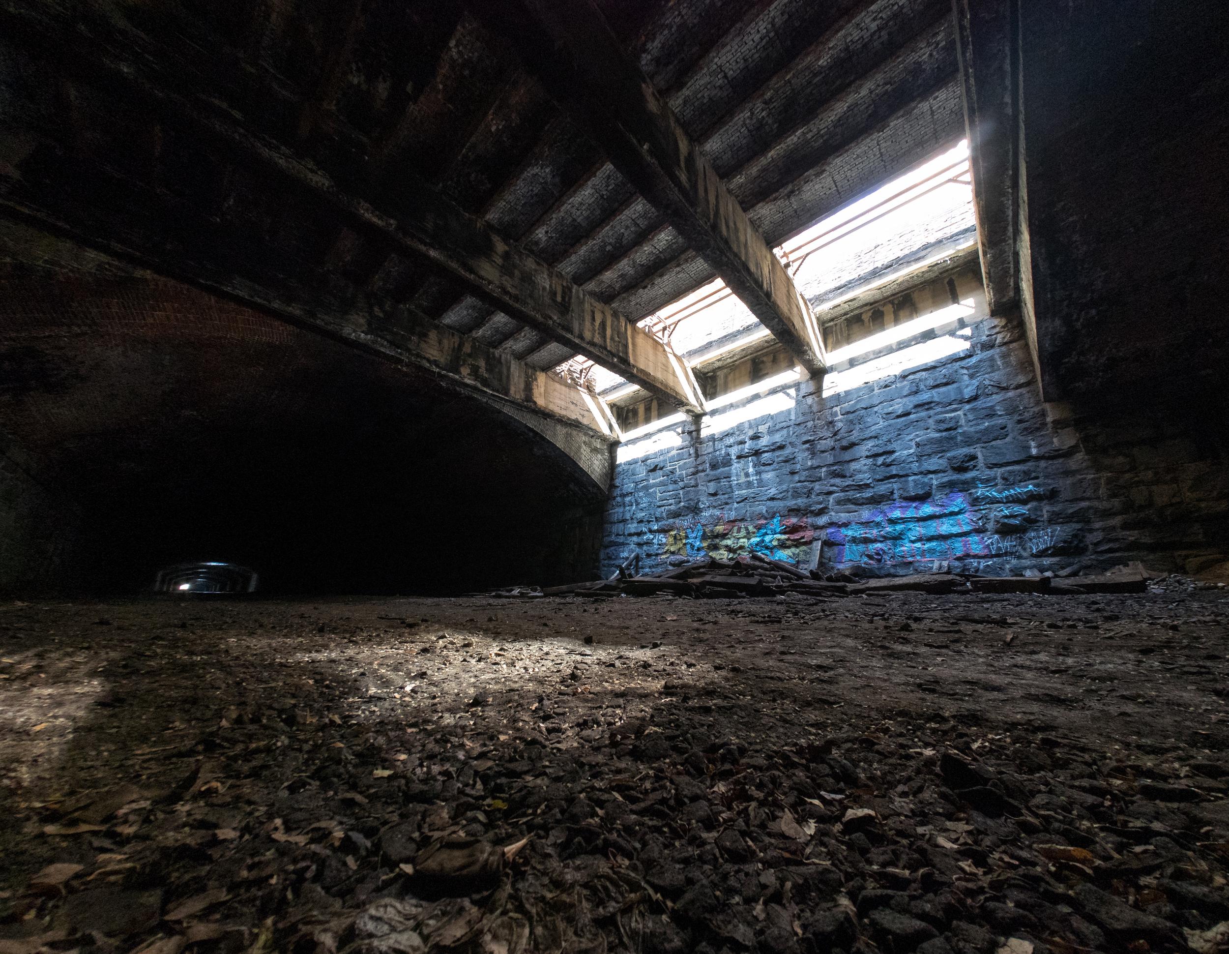 Graffiti and light