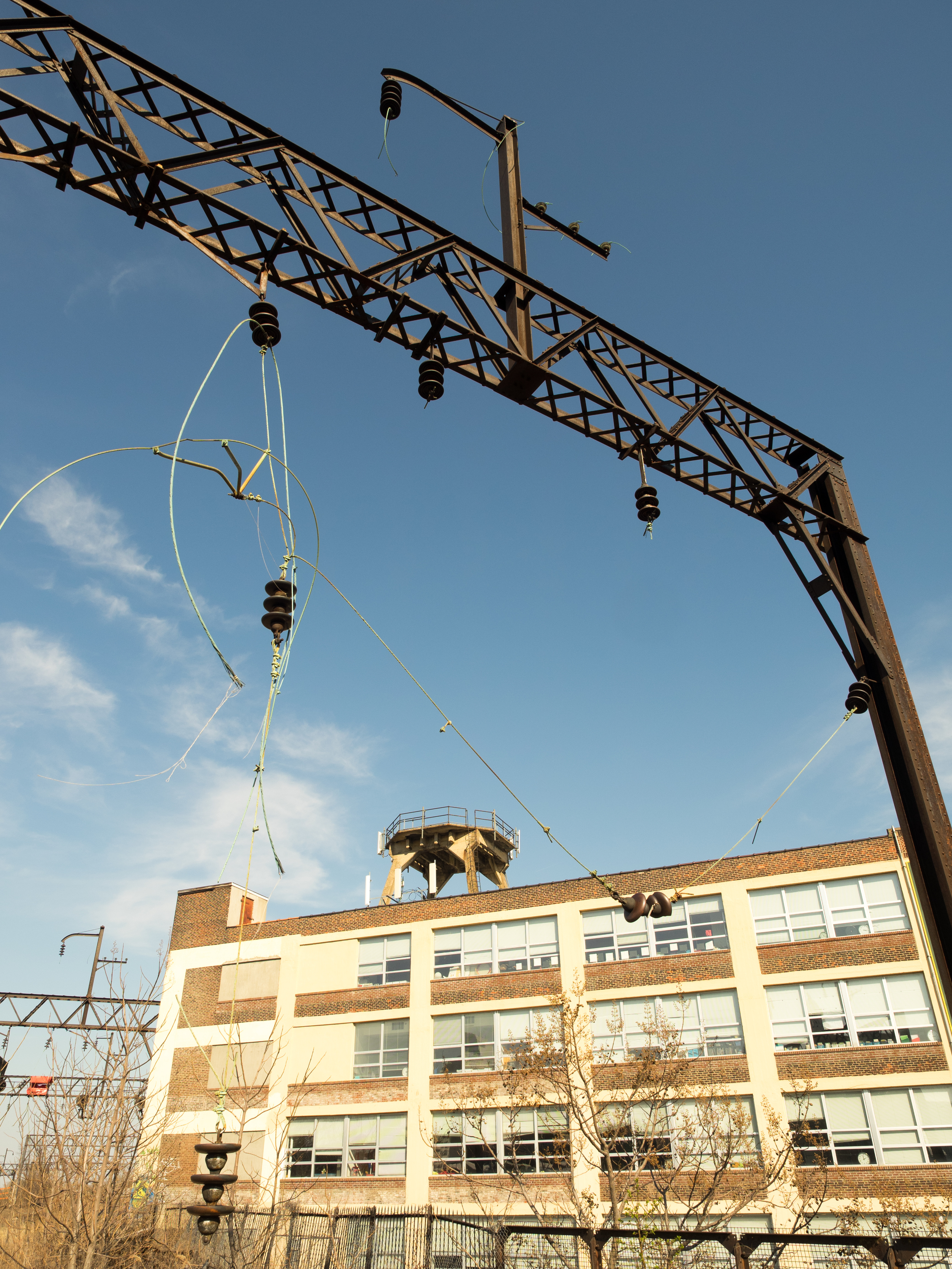 overhead line