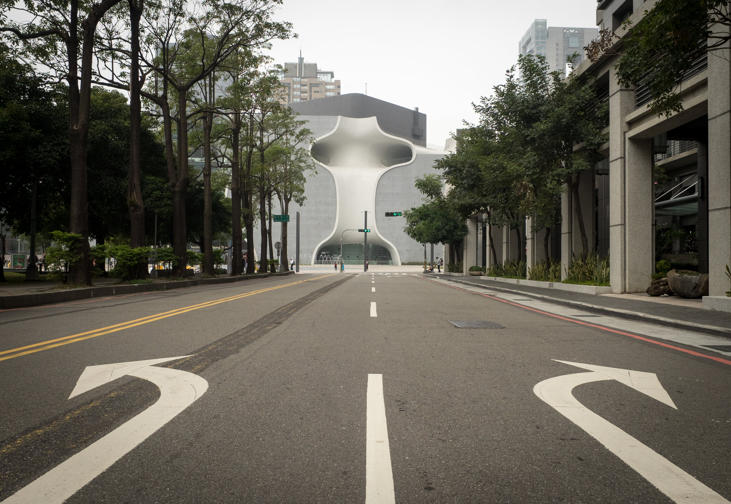 Which way should I go?-- National Taichung Opera house designed by Toyo ito (2013 Pritzker laureate )