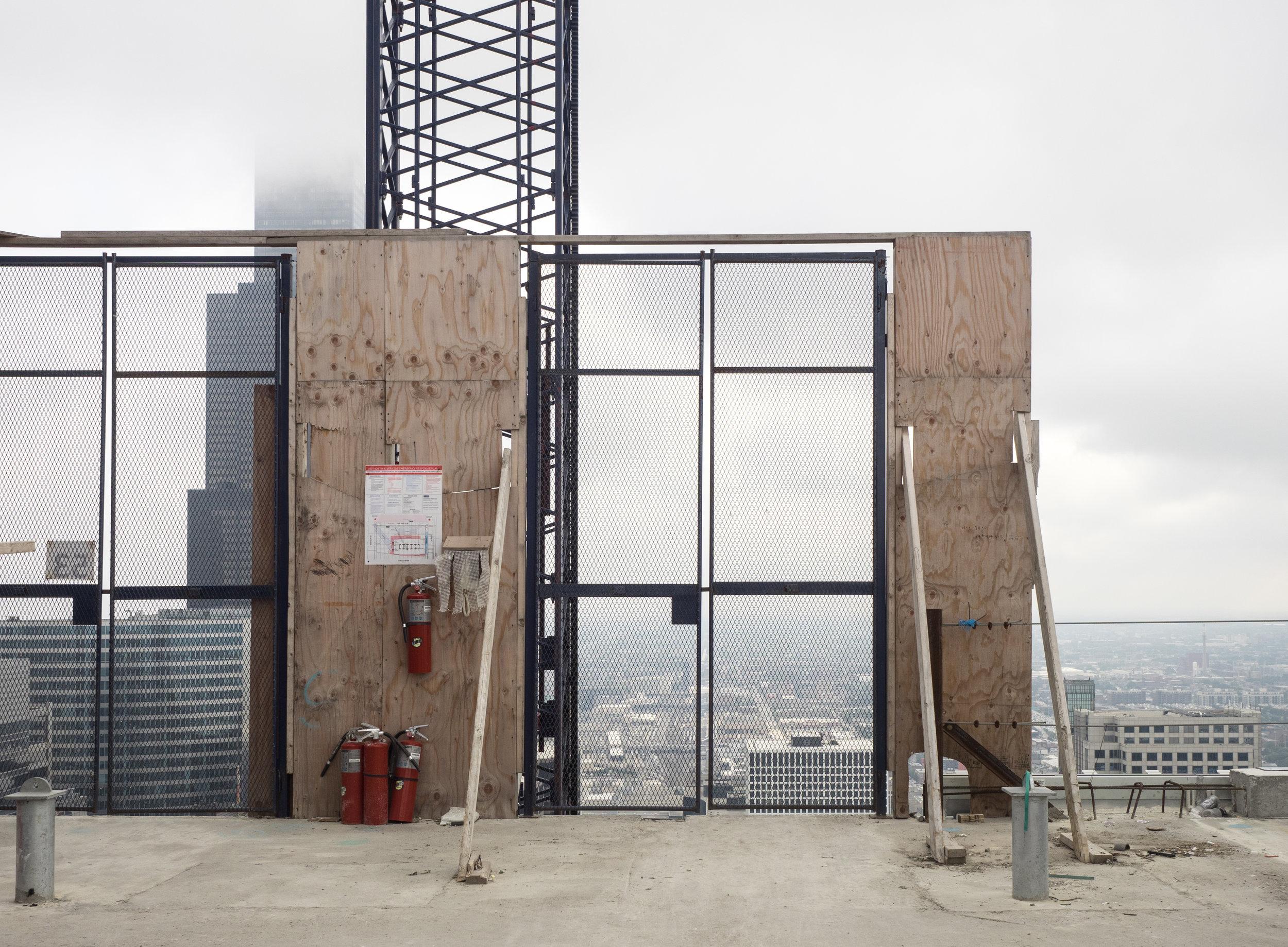 Construction Elevator door