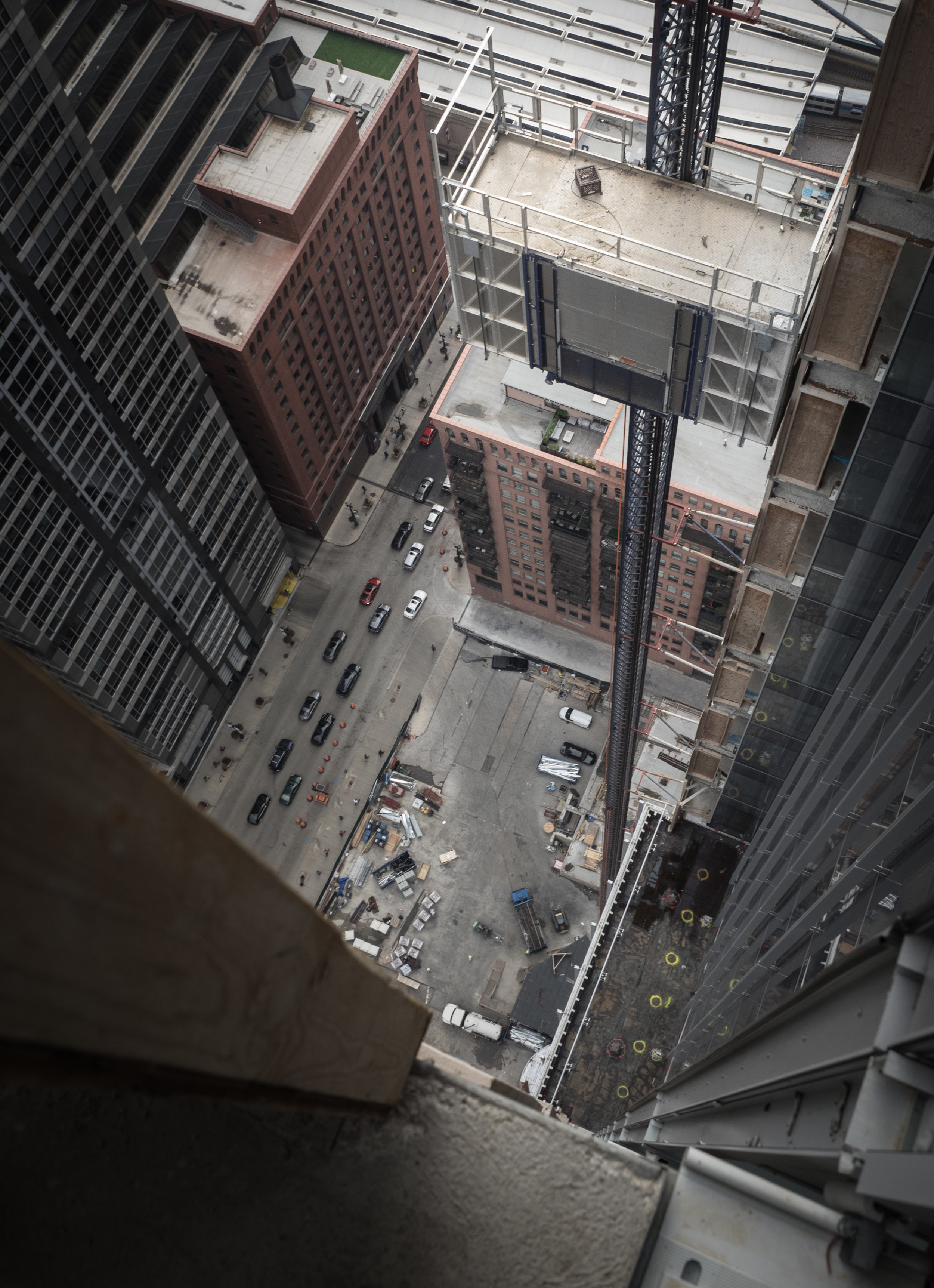 View from one of the openings