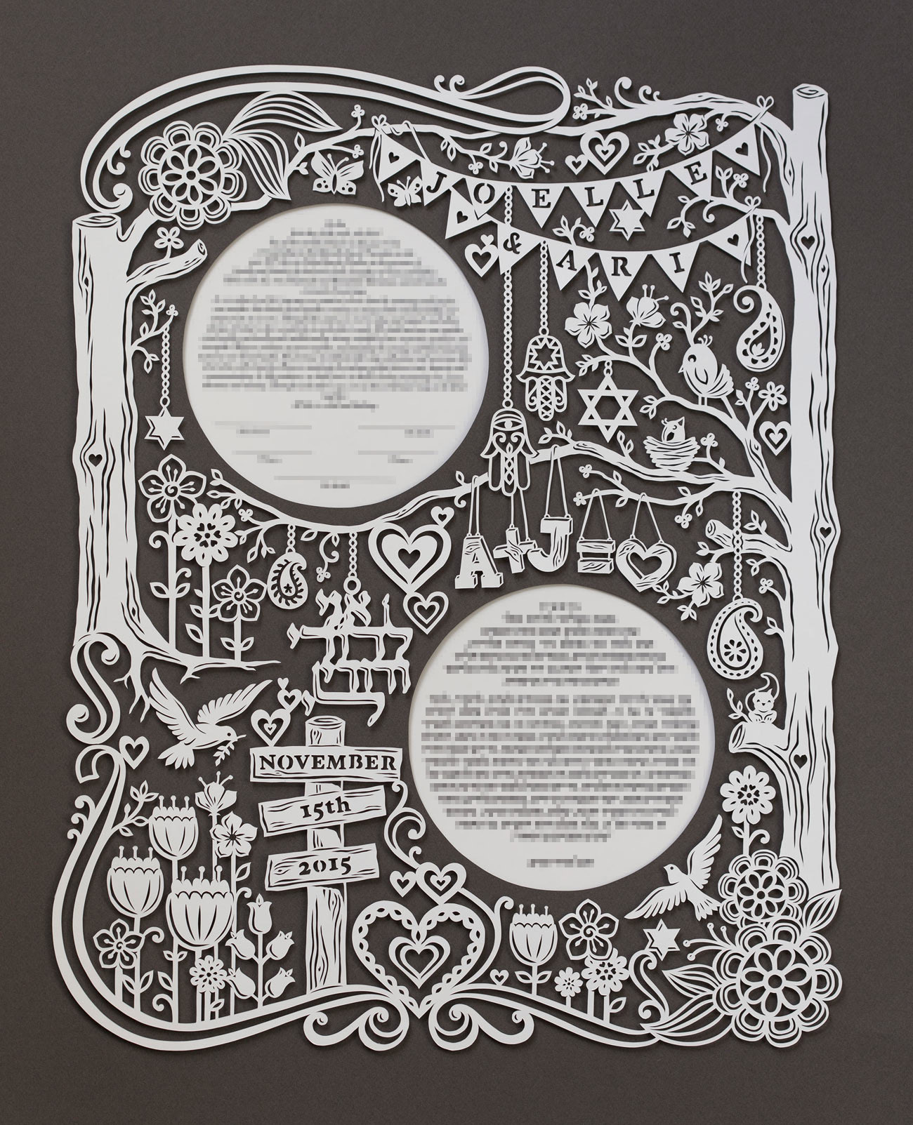 papercut-ketubah-trees-beautiful