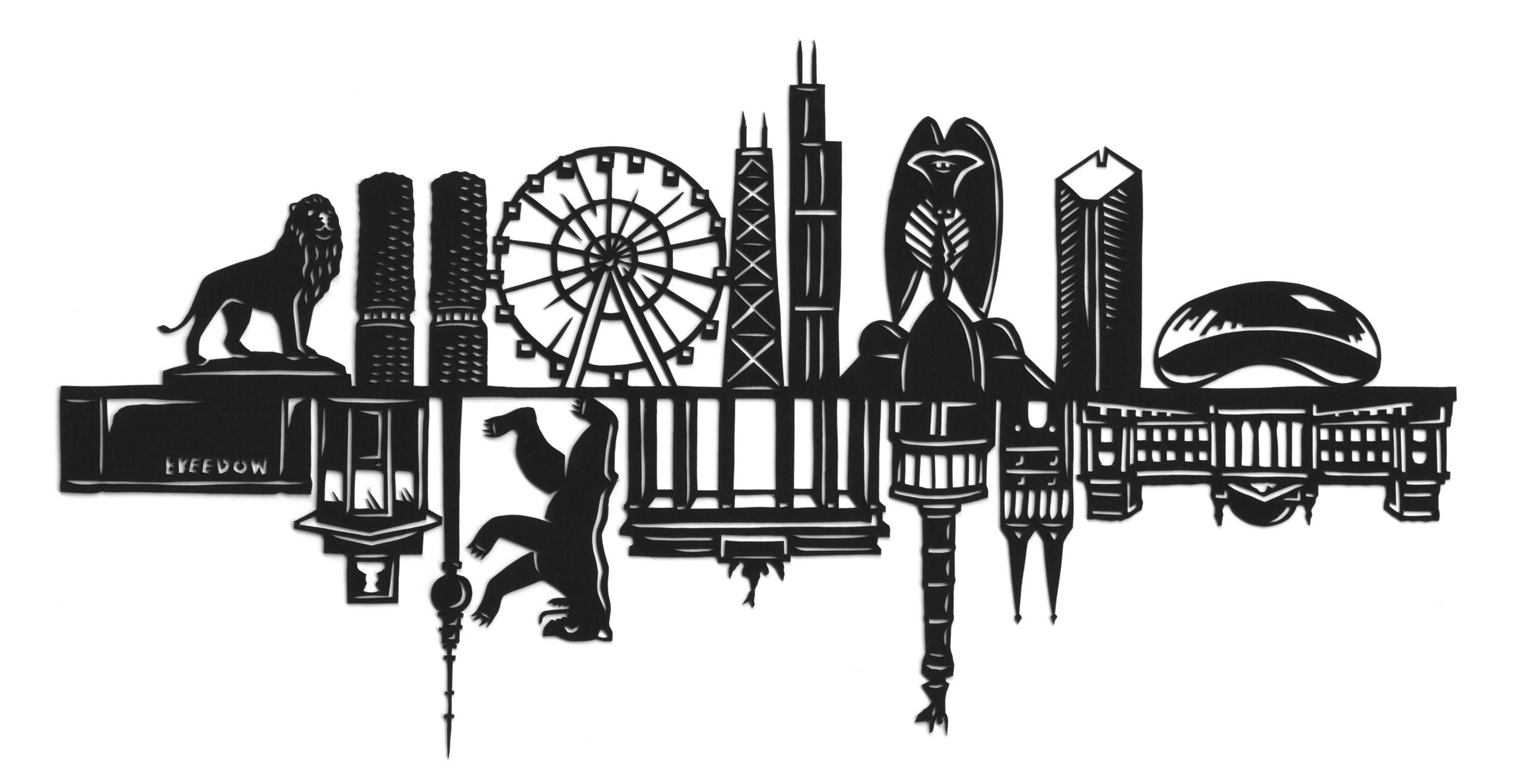 papercut-illustration-chicago-berlin