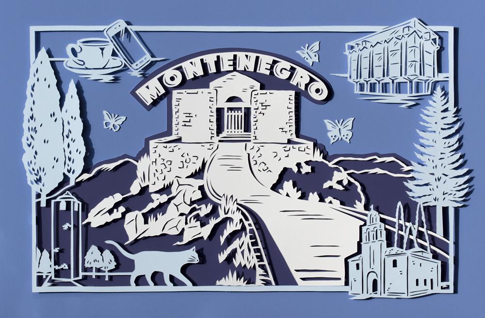 julene-harrison-montenegro-papercut-illustration