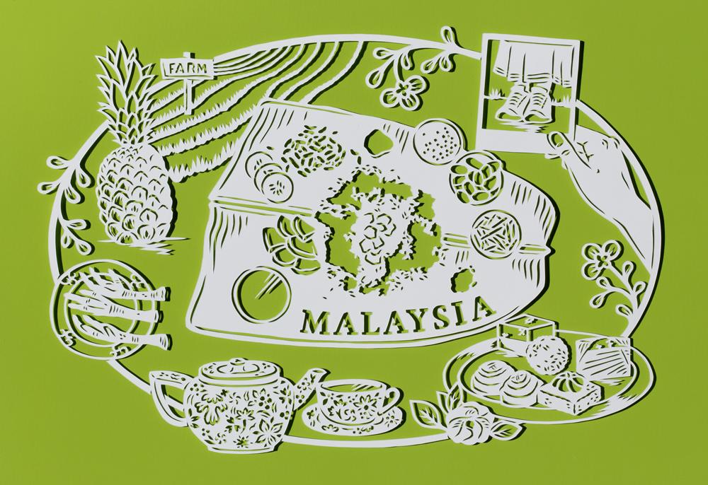 papercut-illustration-malaysia