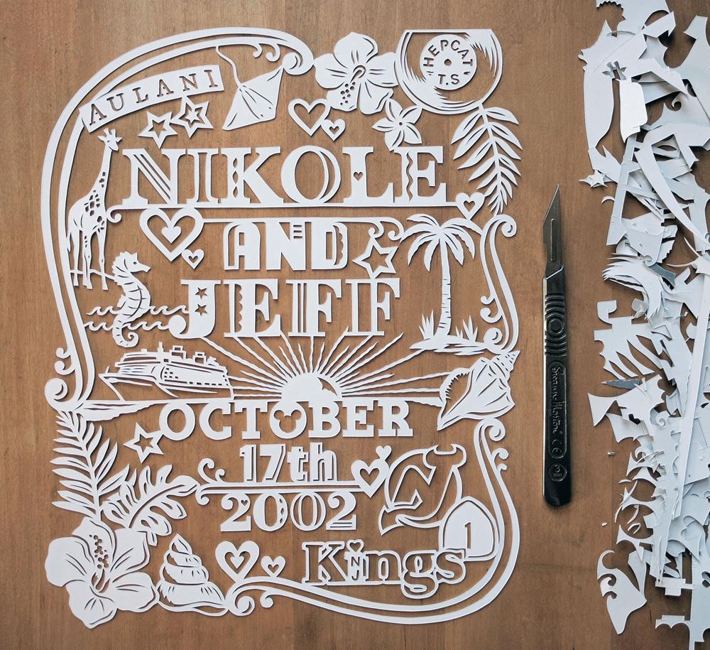 julene-harrison-papercut-illustrator-disney
