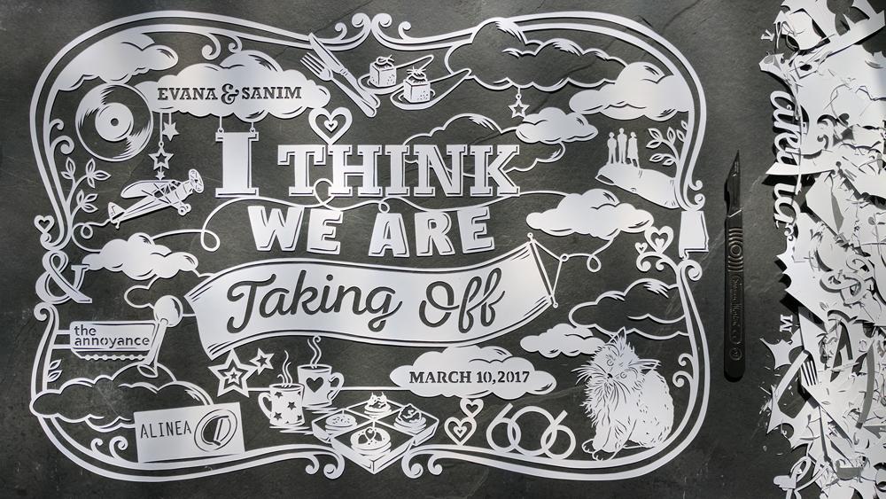 julene-harrison-papercut-illustrator-clouds-plane