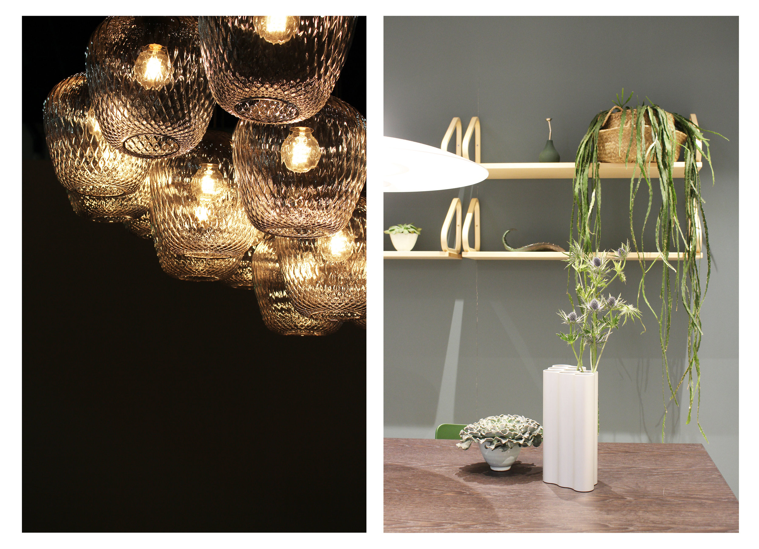Links: &Tradition, rechts: Vitra