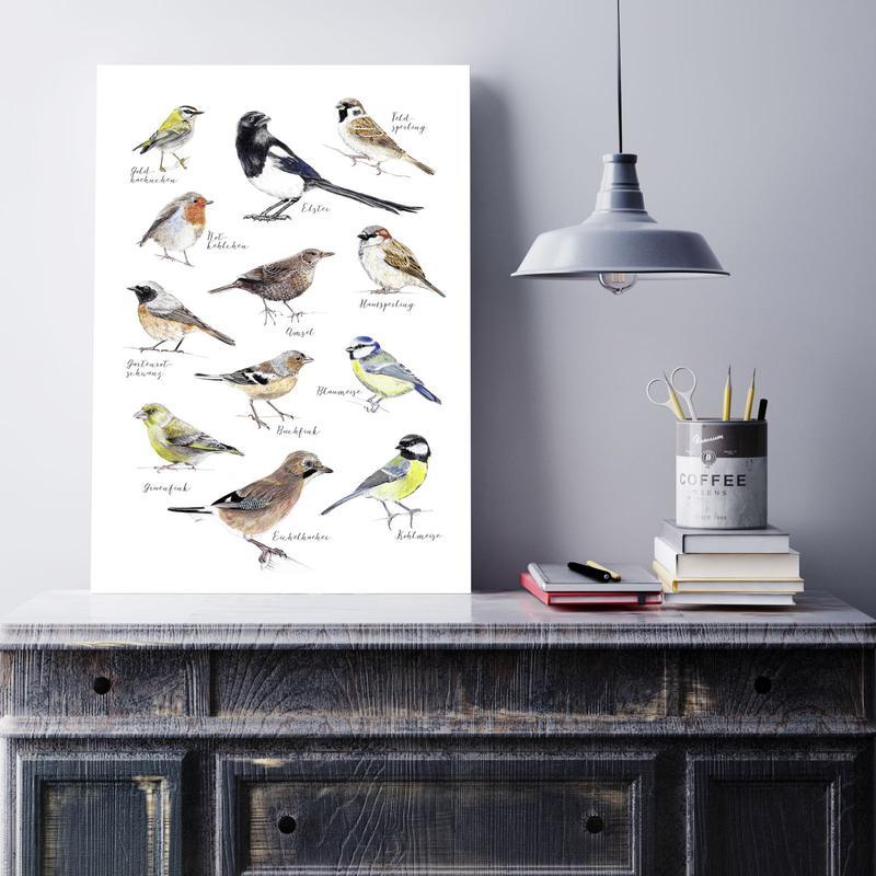 Vogelprints zijn altijd goed!