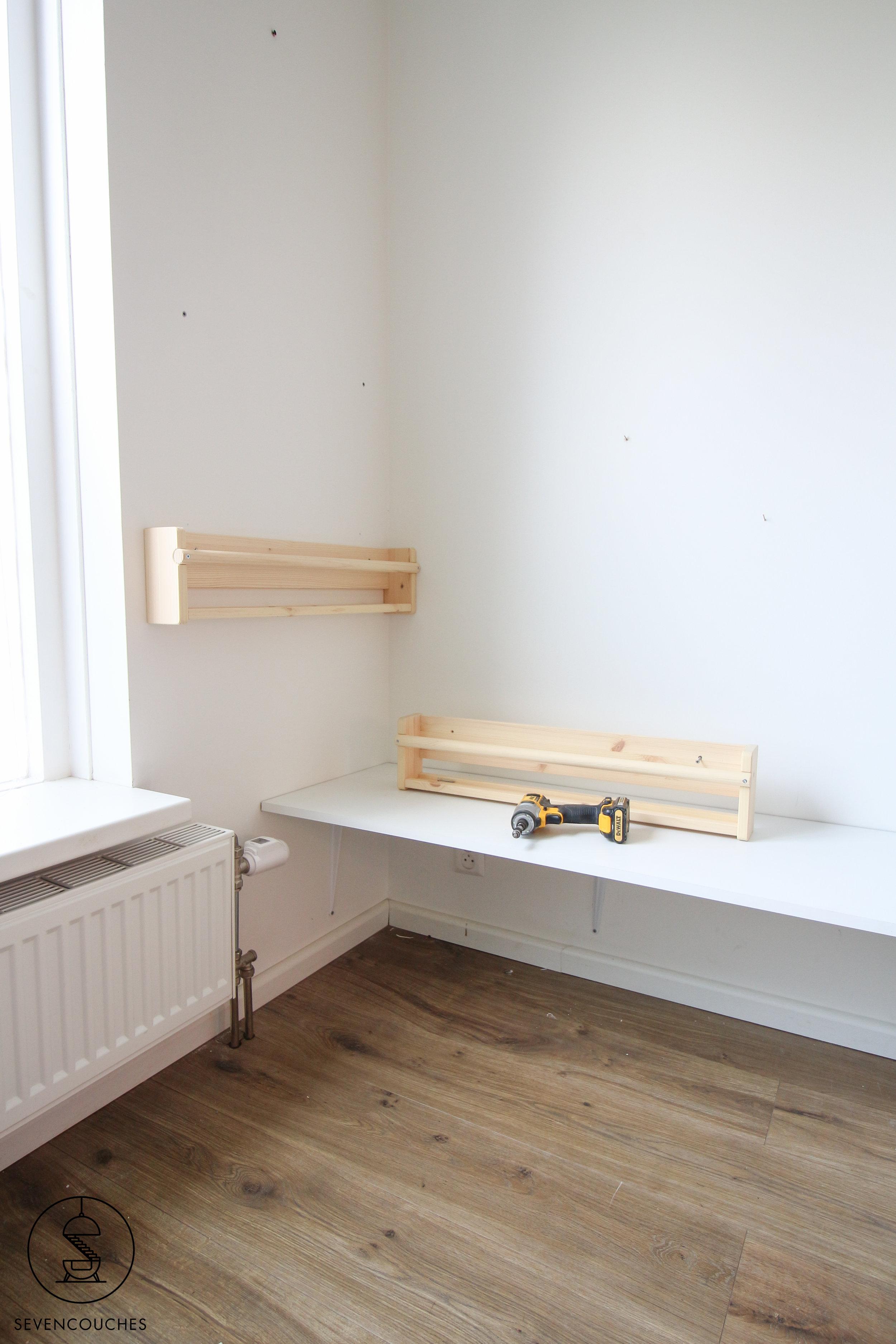 Weekend DIY: van loos hoekje naar speeltafel in een handomdraai