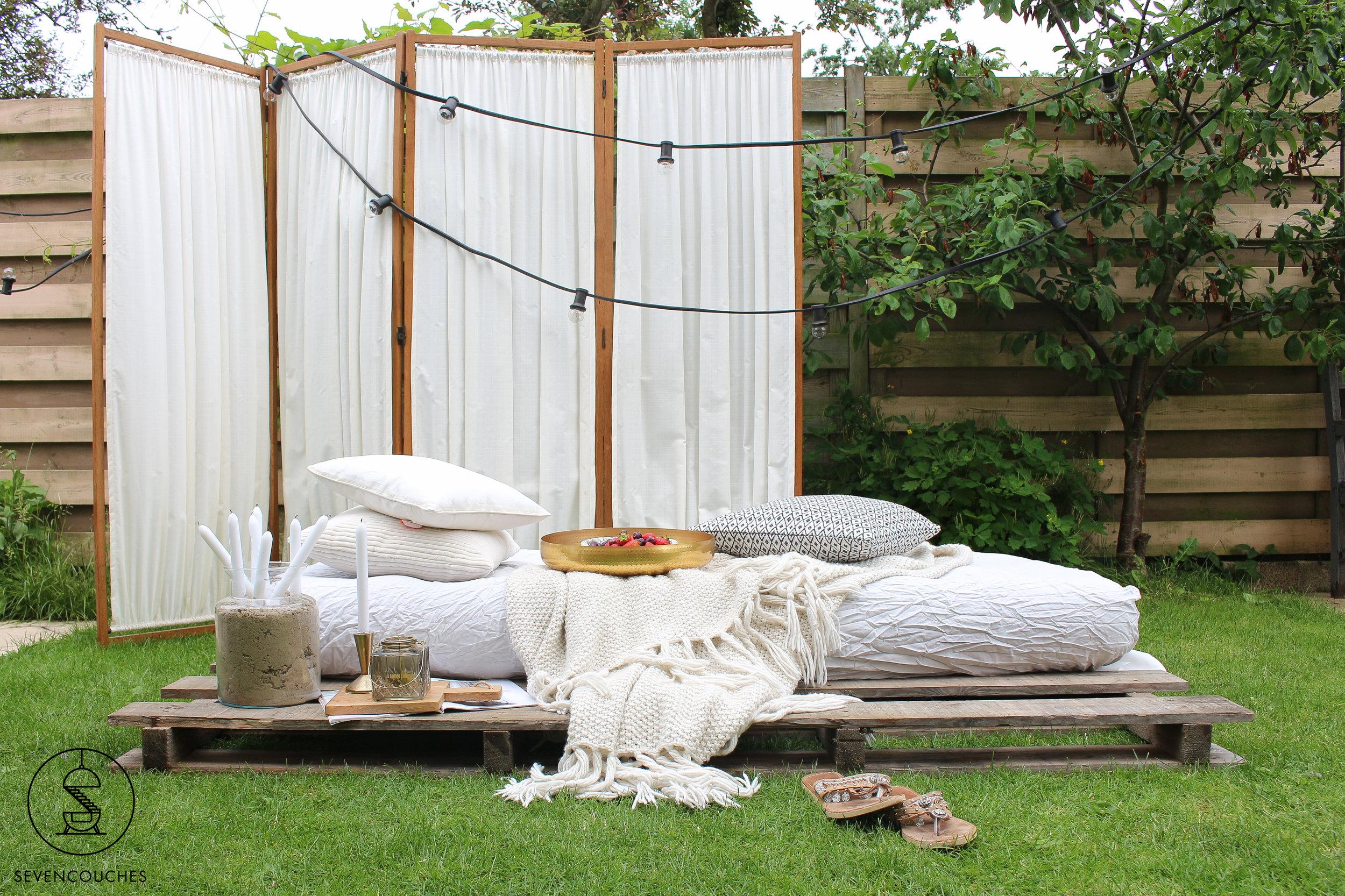 Weekend DIY: dit comfortabele daybed kost je (bijna) niets