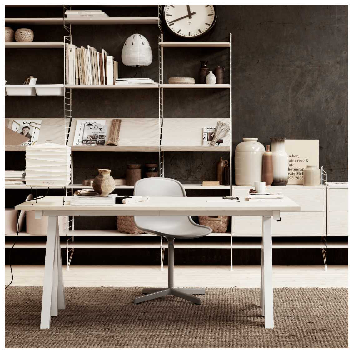 Works Desk van String