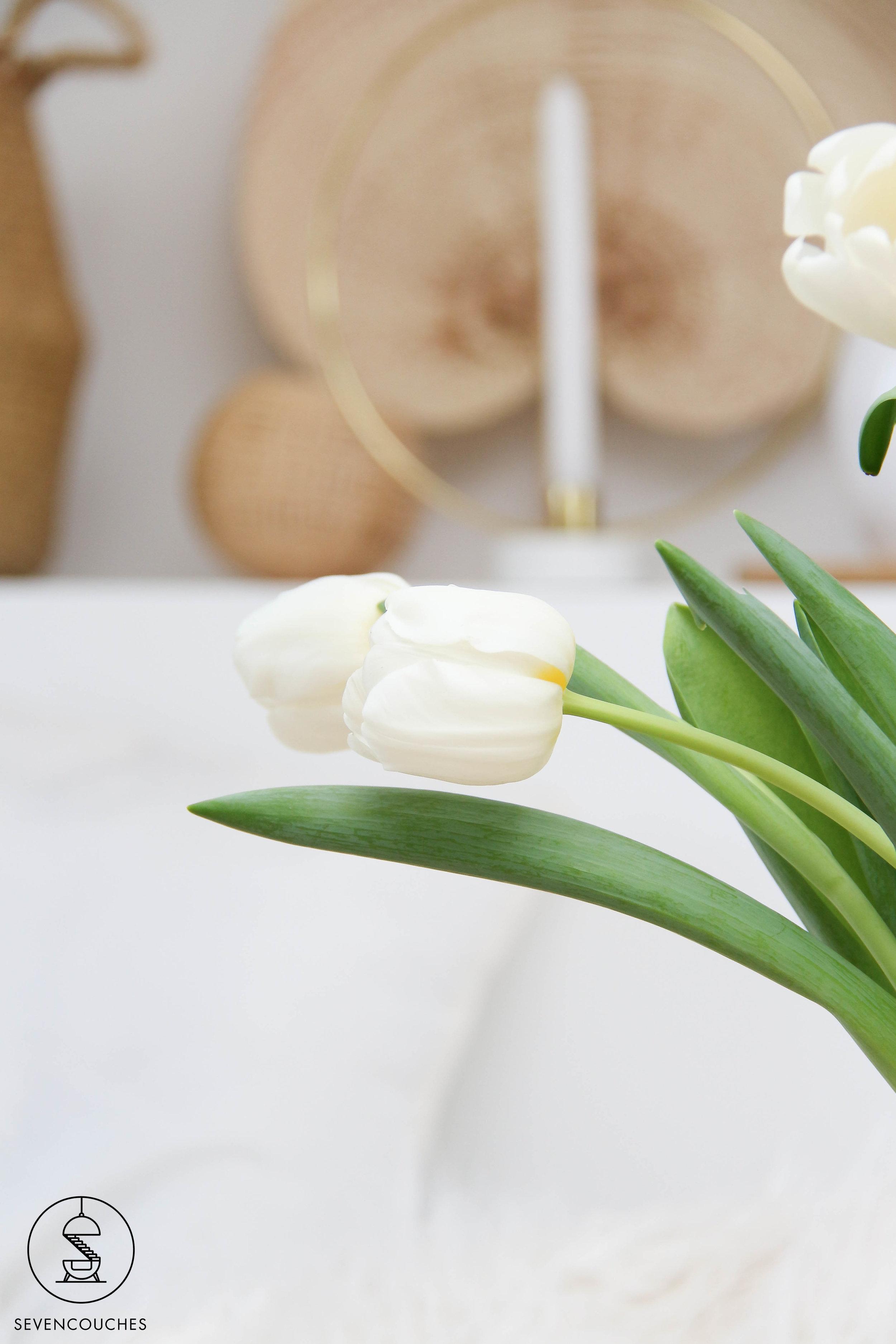 Net even anders: zet je tulpen eens in een glazen schaal