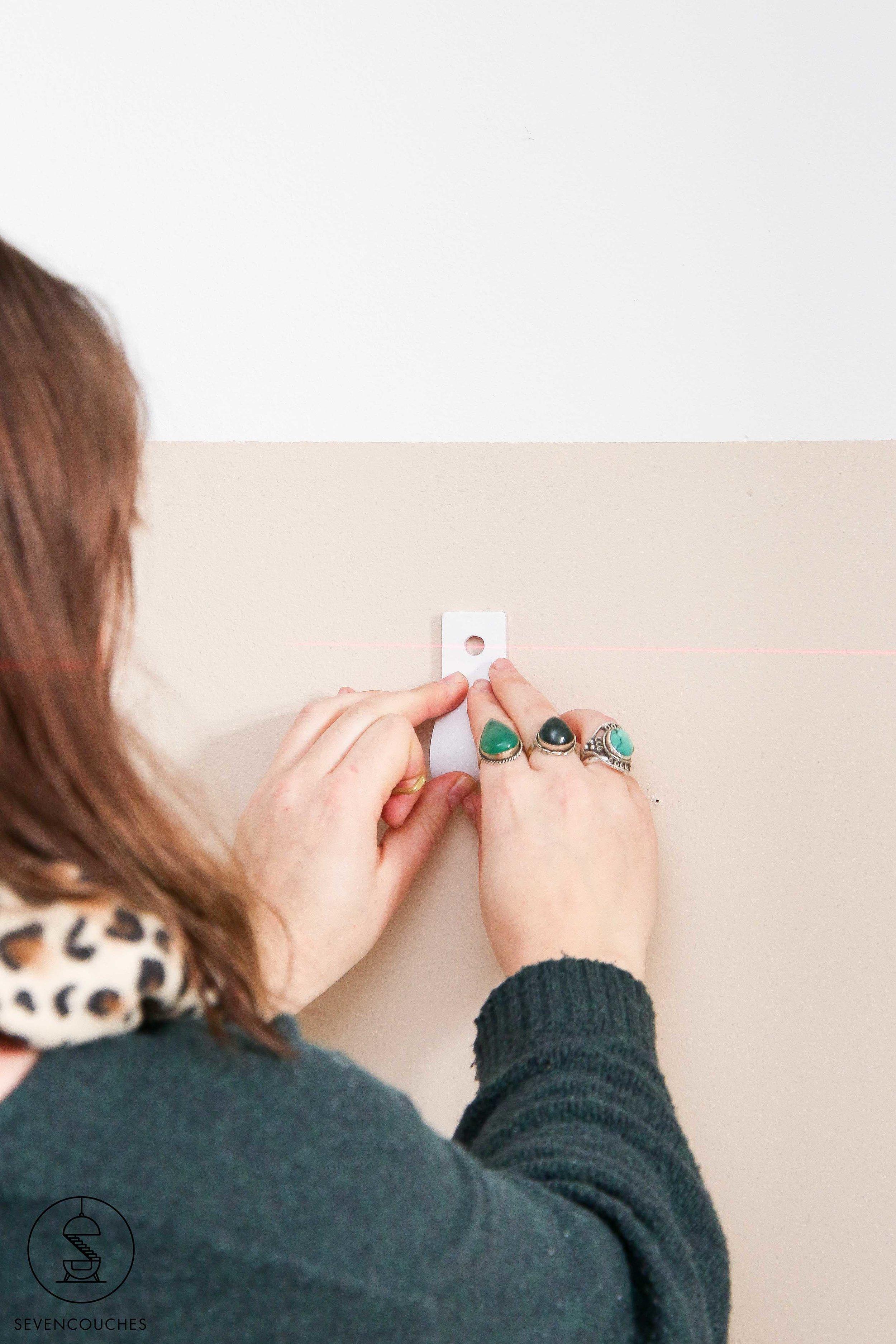 Met deze tool tover je razendsnel een strakke lambrisering op de muur