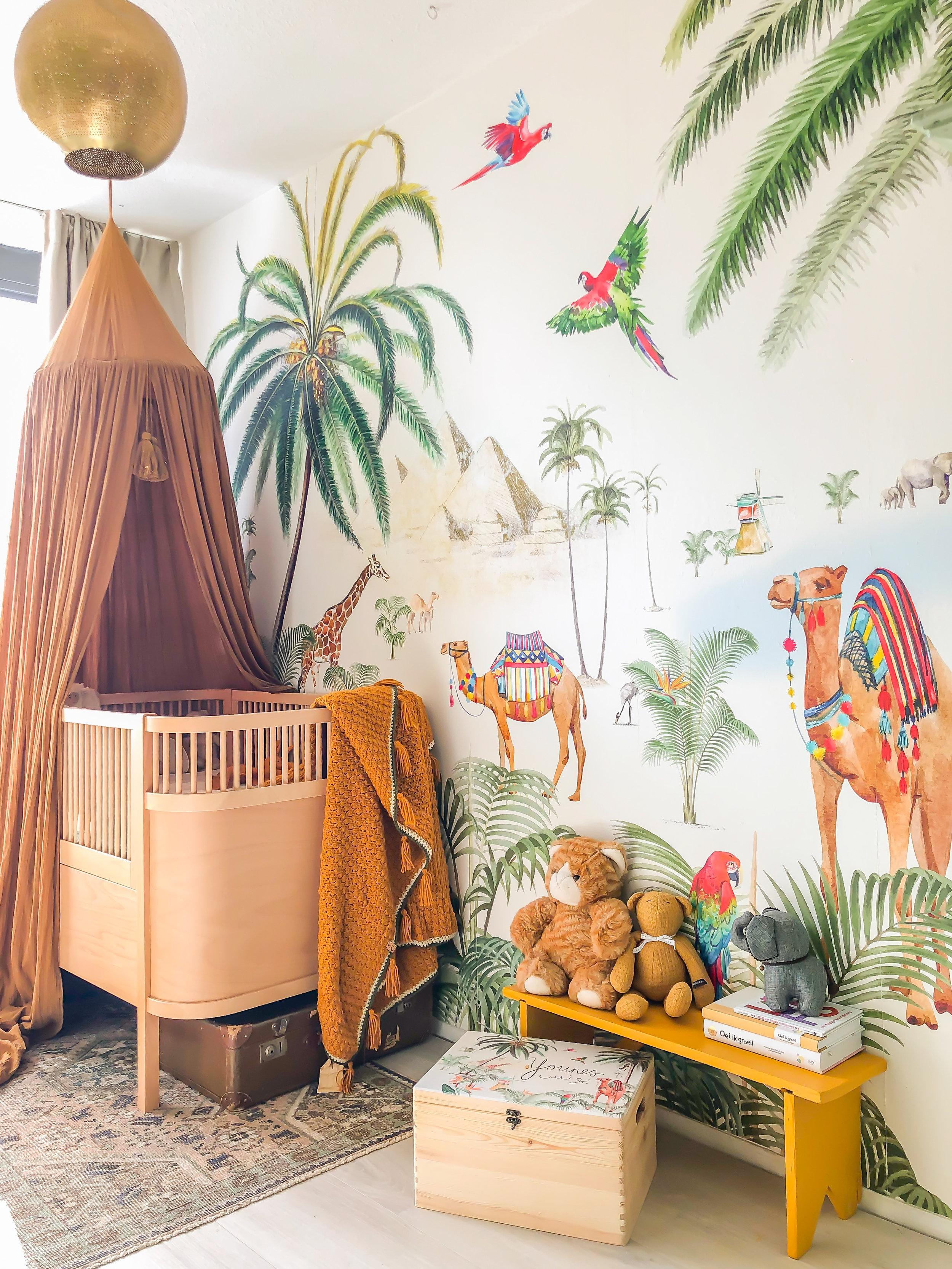 5x behang in de kinderkamer (+ tips van interieurbloggers)
