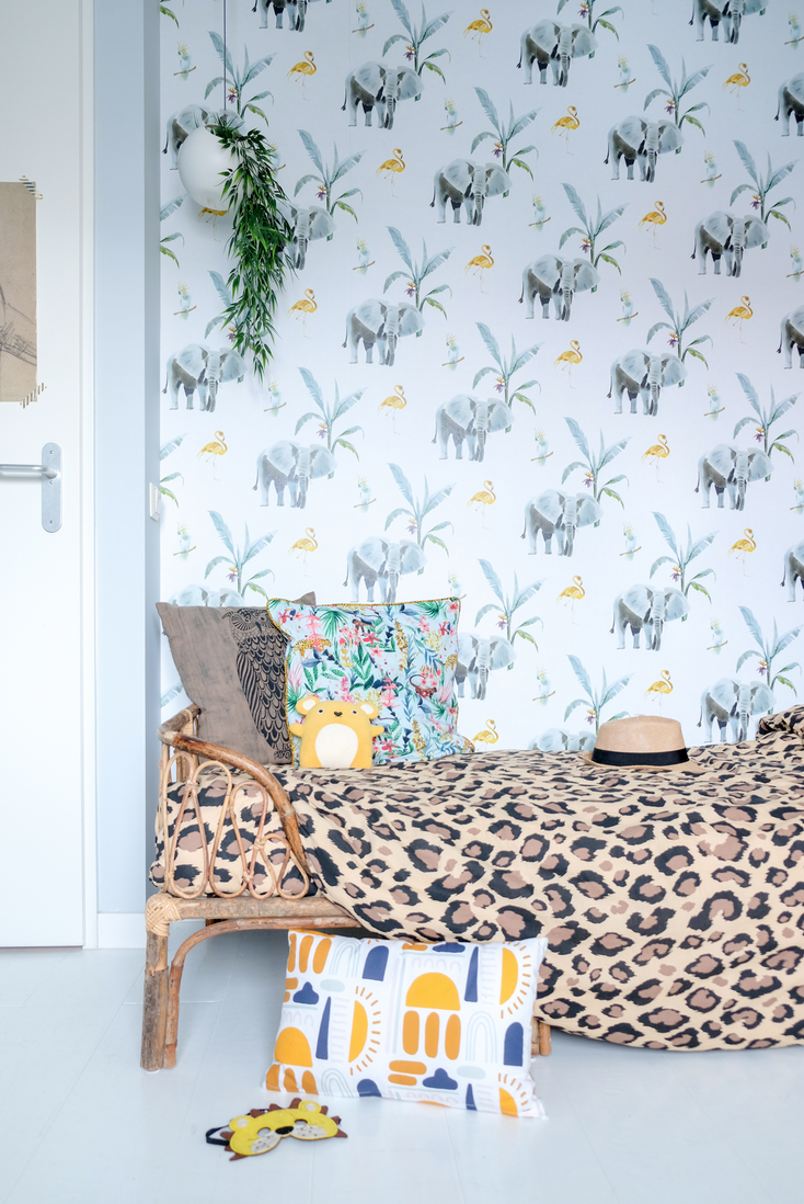 5x behang in de kinderkamer (+ tips van andere interieurbloggers)