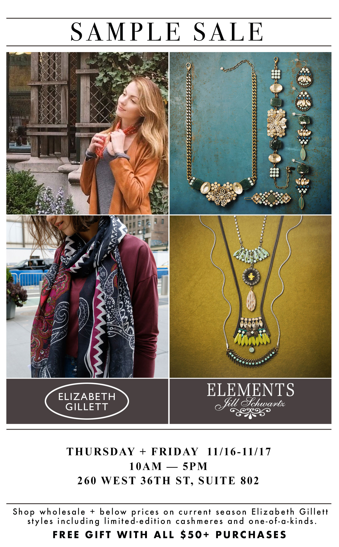 Elizabeth Gillett - Elements Jill Schwartz Sample Sale Ad.jpeg