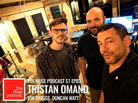 Promo shot from The Muse Podcast