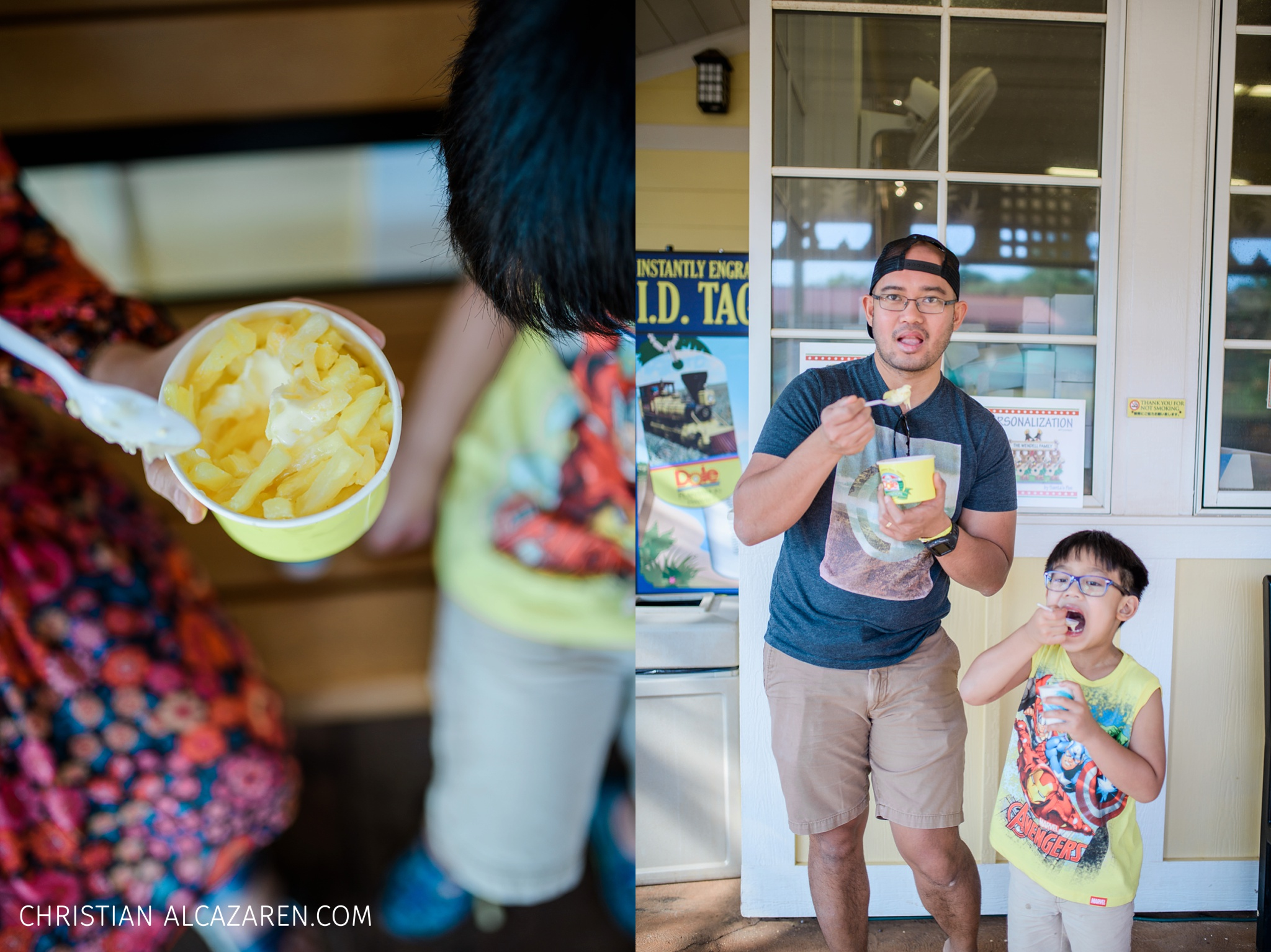 We are twinning when it comes to food trip. The pineapple whip was a fun experience