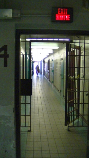 PHOTOGRAPH BY JUSTIN PICHÉ AT KINGSTON PENITENTIARY IN 2013