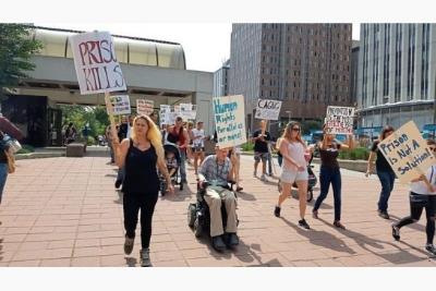 Photo byt Jesse Cnockaert of Metro News - 10 August 2017