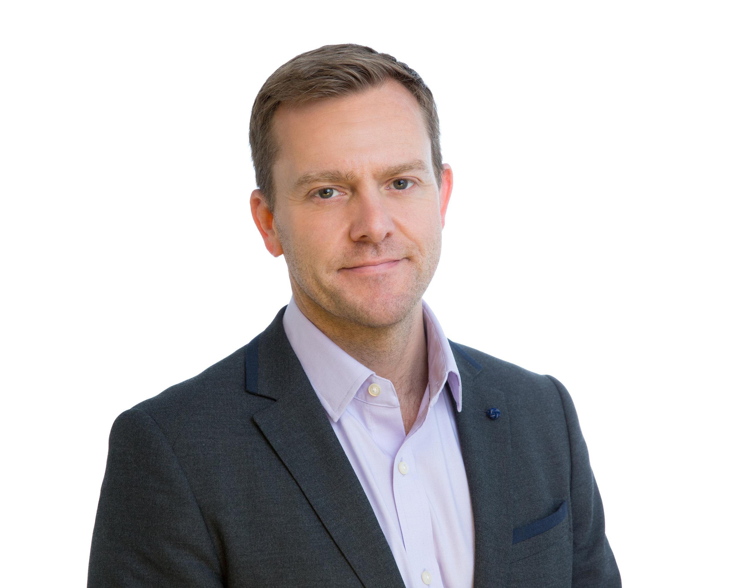 David Morrow,  Vice Preisdent. Global Marketing, ADARA