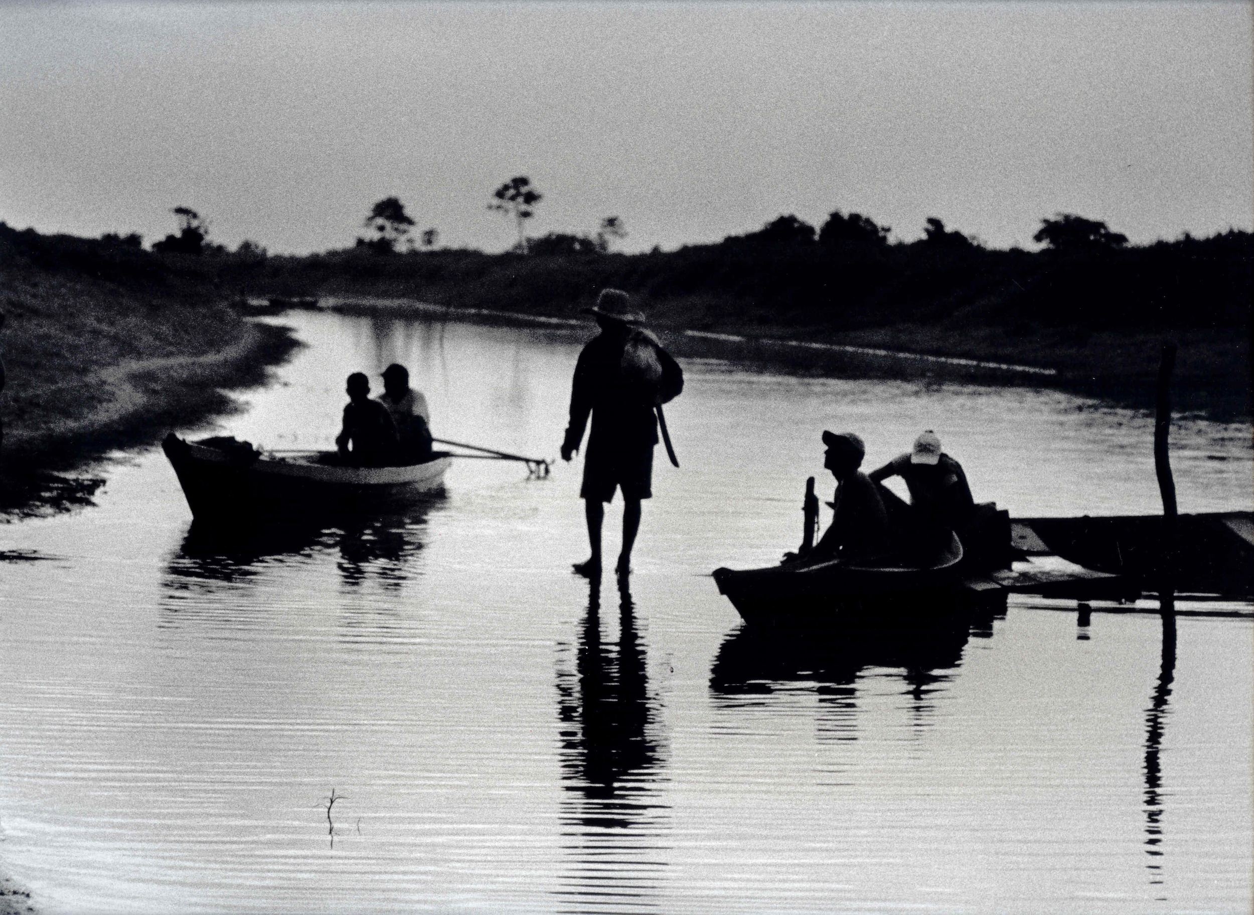 Lower Amazon floodplain lakes managed under the community co-management system are 60% more productive than unmanaged lakes. Photo: David McGrath