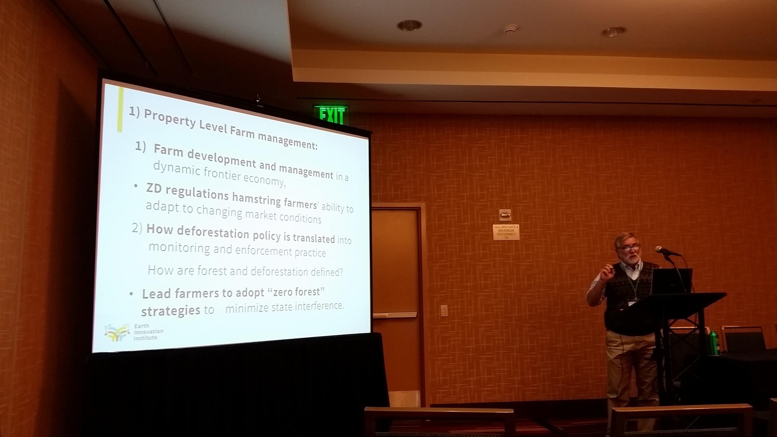 Toby McGrath (EII) discusses the impacts of zero-deforestation policies