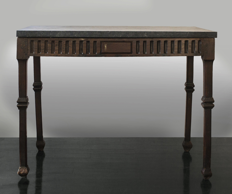 "18th Century Italian Walnut Table  36"" w. x 28"" h. x 21"" d.  $8,900"