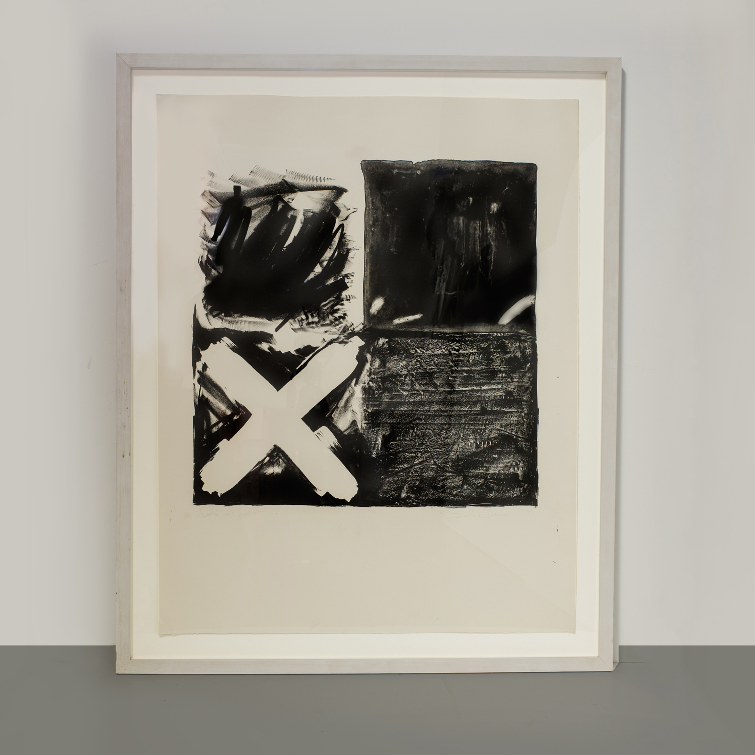 """Sally Lowe Lithograph  44"""" h. x 35"""" w.  $5,400"""