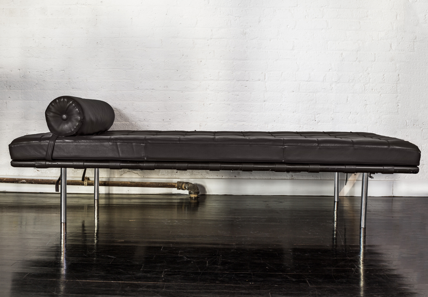 "Barcelona Daybed  78"" l. x 38"" w. x 17"" h.  $7,800"
