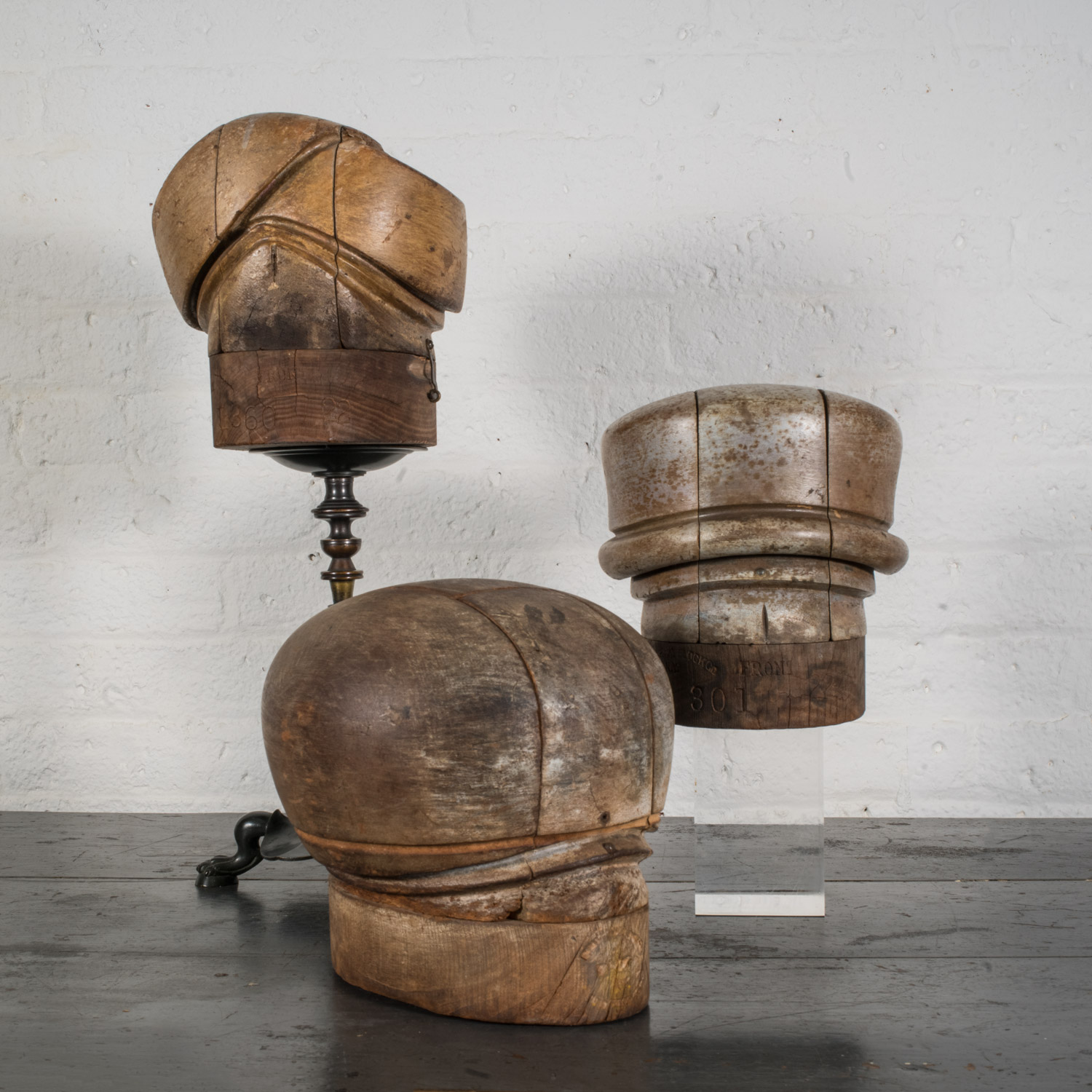 19th Century Hat Forms  $4,800