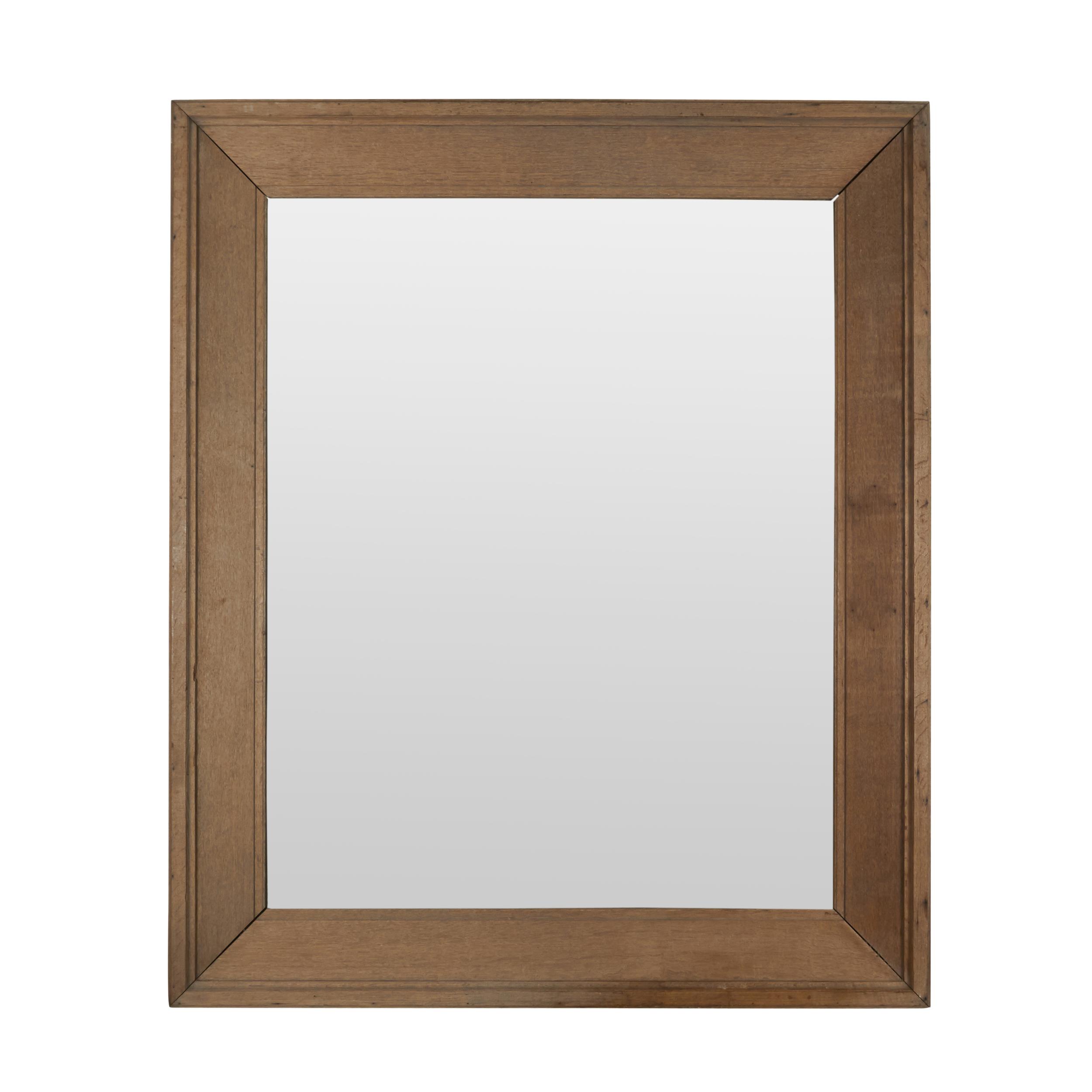 "Extra large cerused oak mirror  78"" h. x 68"" w. x 5"" d.  $7,800"