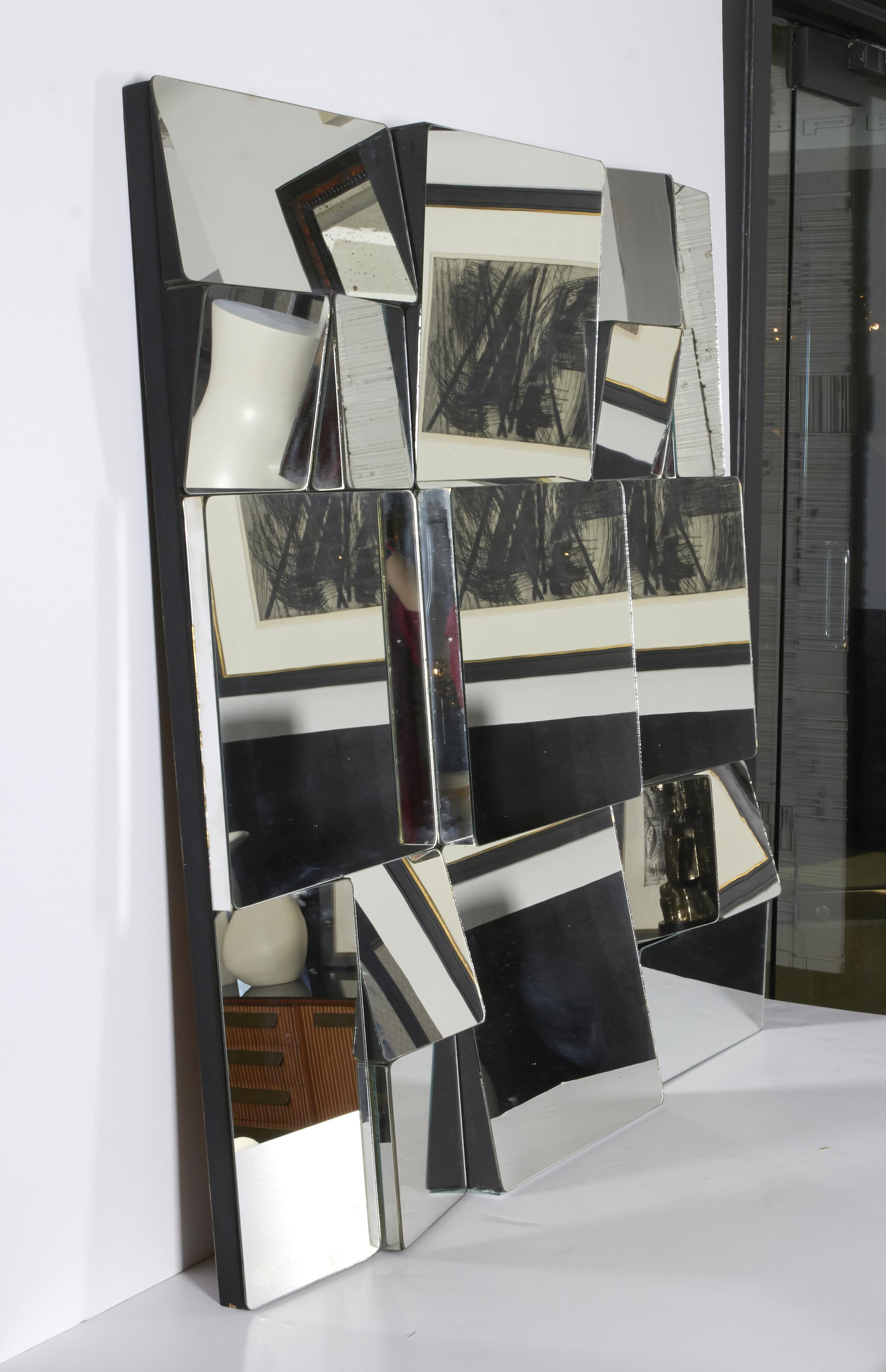 """Neal Small mirror  37"""" w.x 36"""" h. x 3"""" d.  $6,800"""