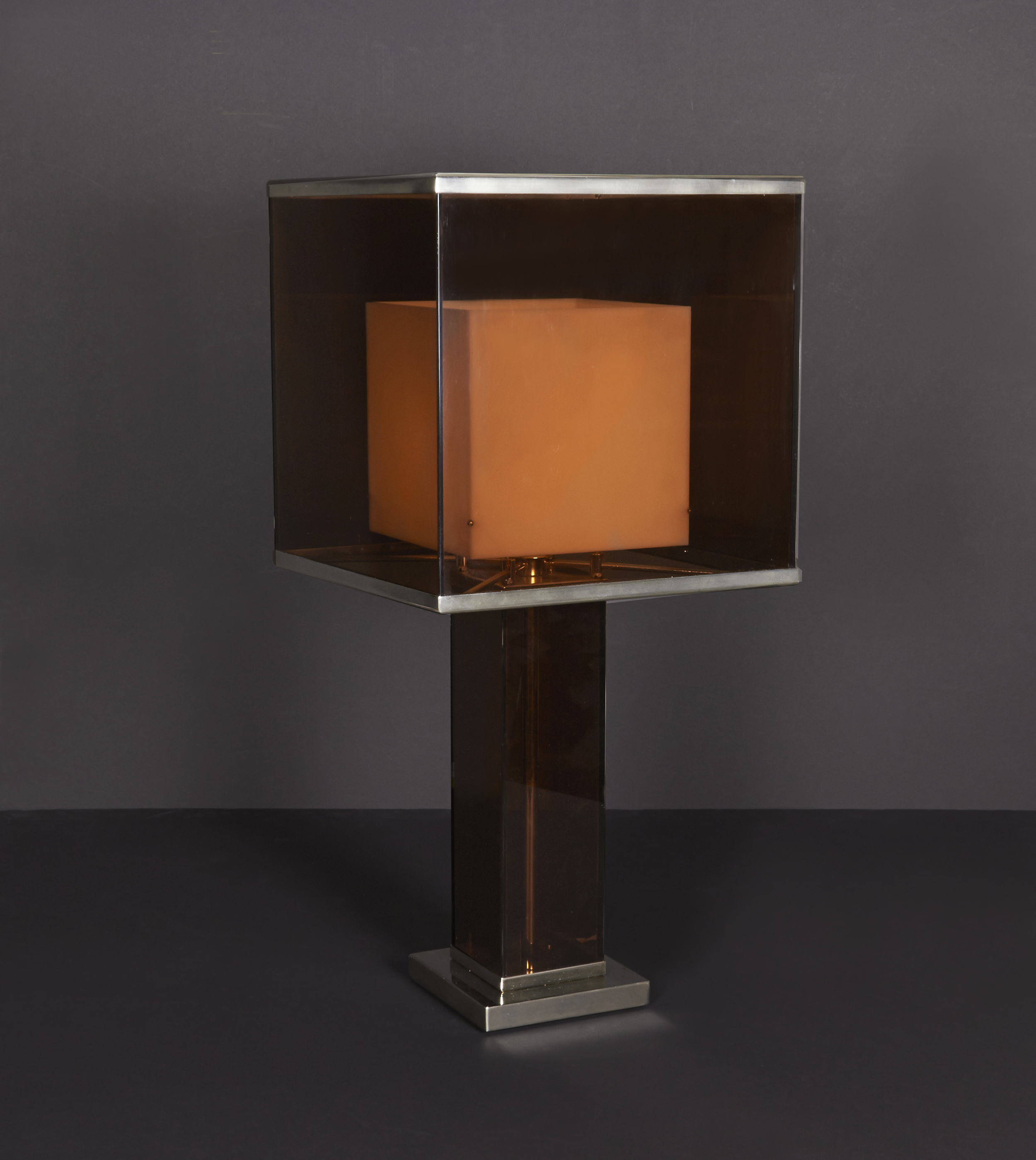 """Willy Rizzo lamp  28"""" h.  $16,000"""