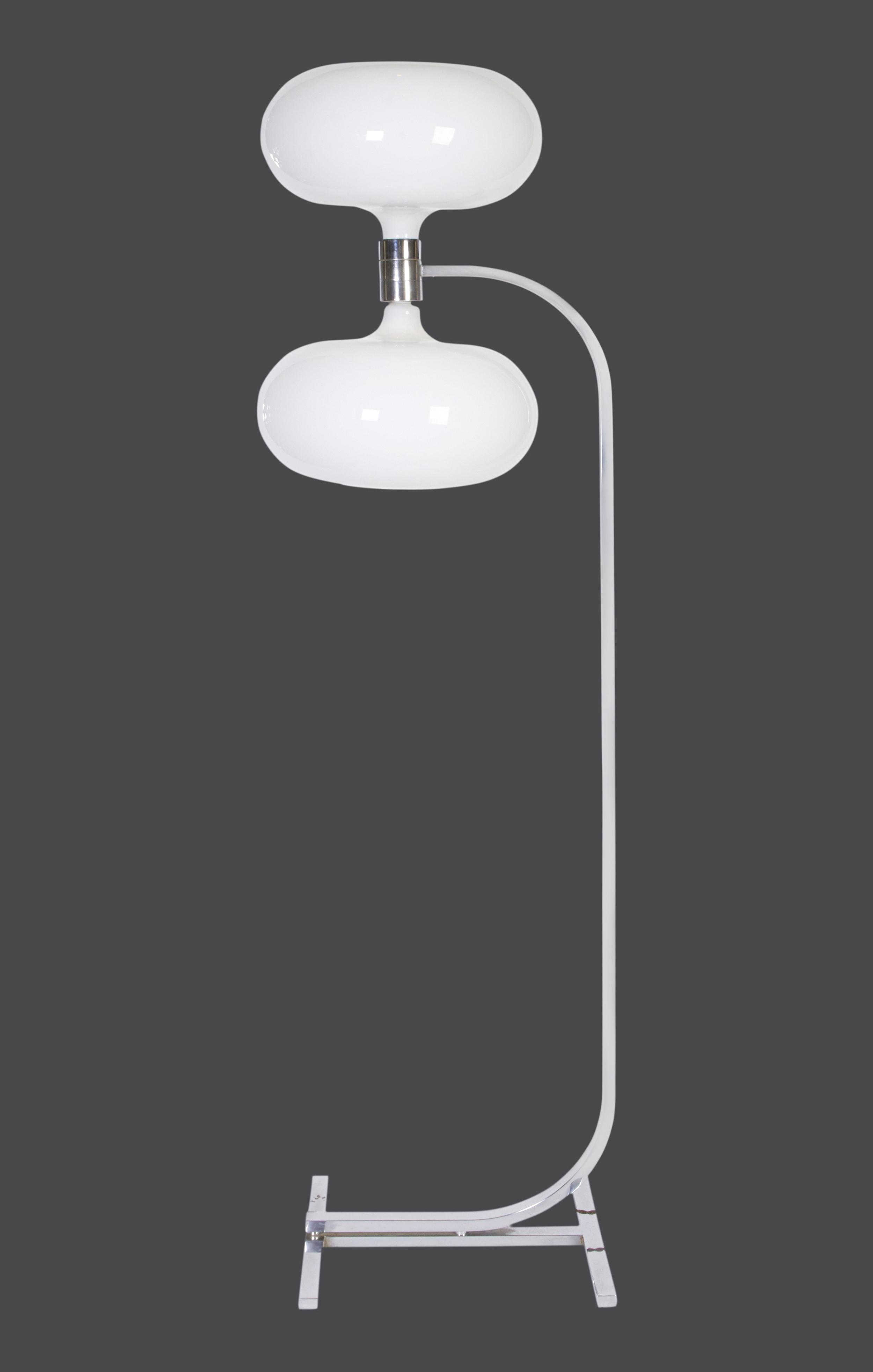"Franco Albini floor lamp   72"" h. x 20"" w. x 15"" d.   $18,000"