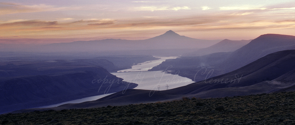 Dusk on the Columbia Gorge - Limited Edition