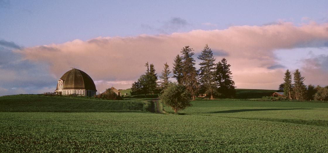 Leonards Round Barn