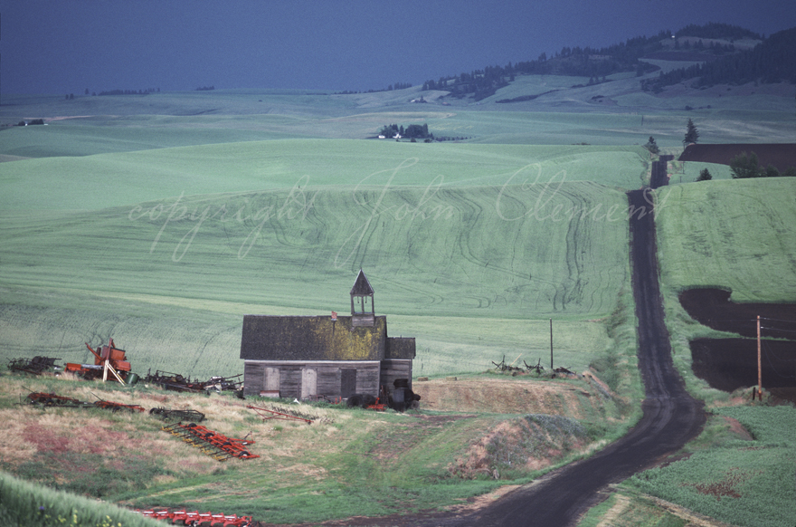 Retired School Palouse