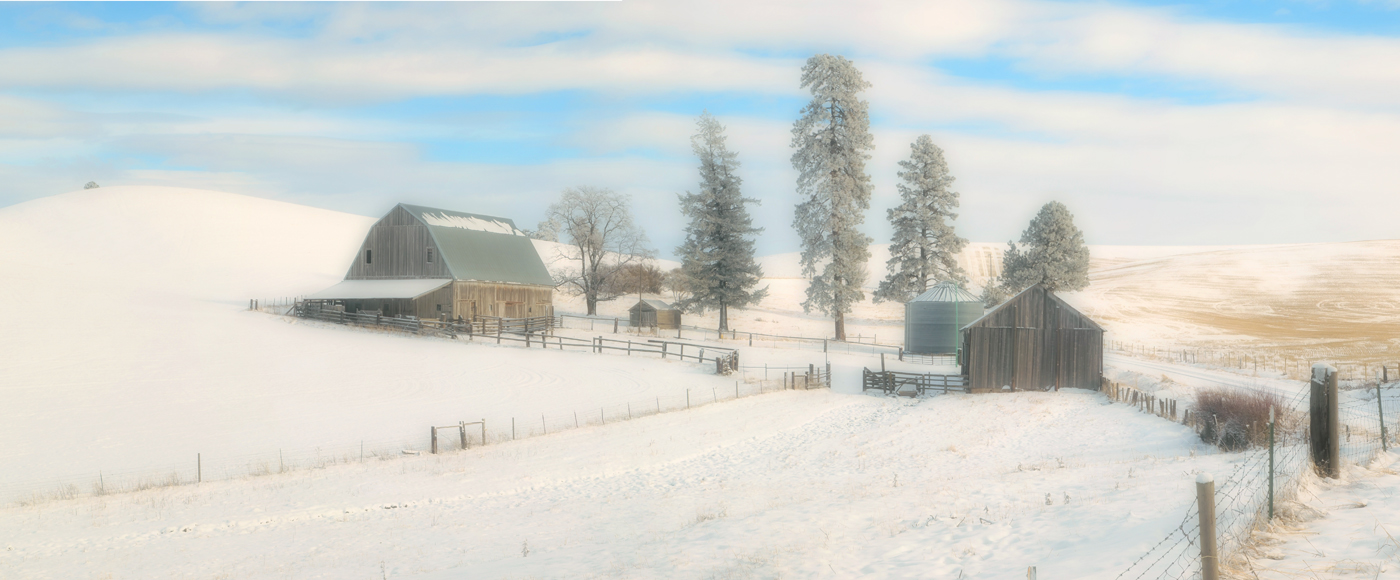 Winter Barns III