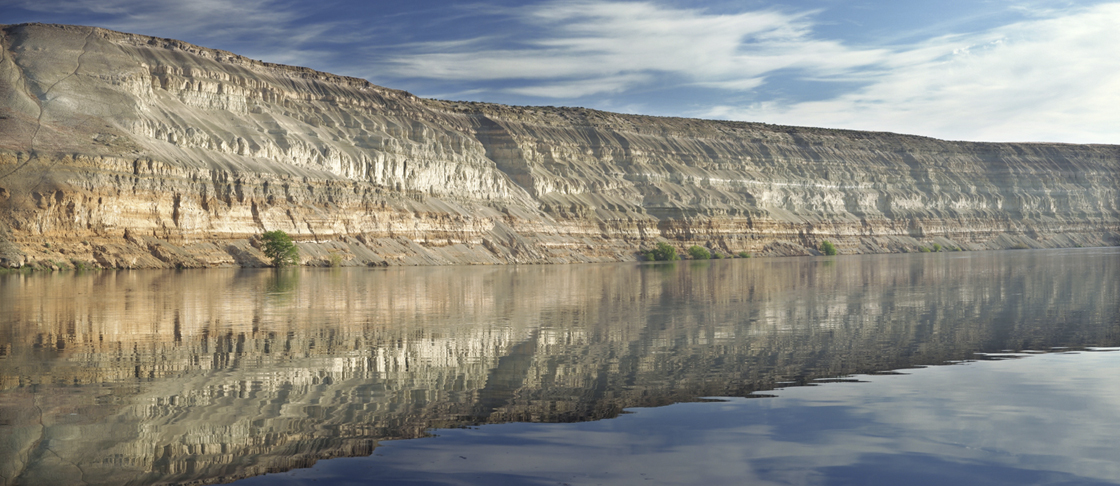 White Bluffs Reflections