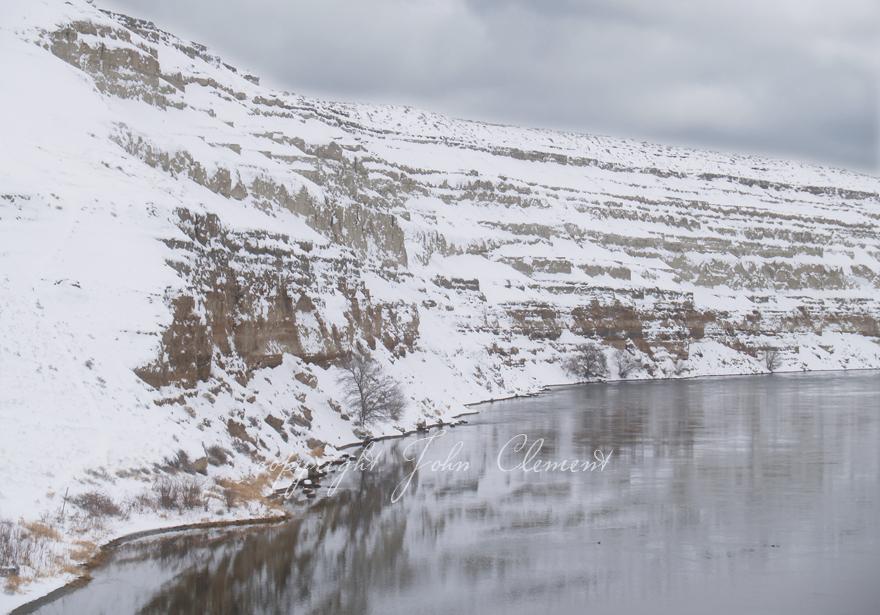 White Bluffs Winter