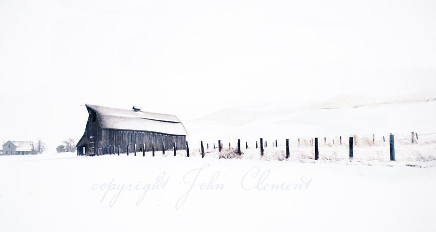 Dayton Barn Winter